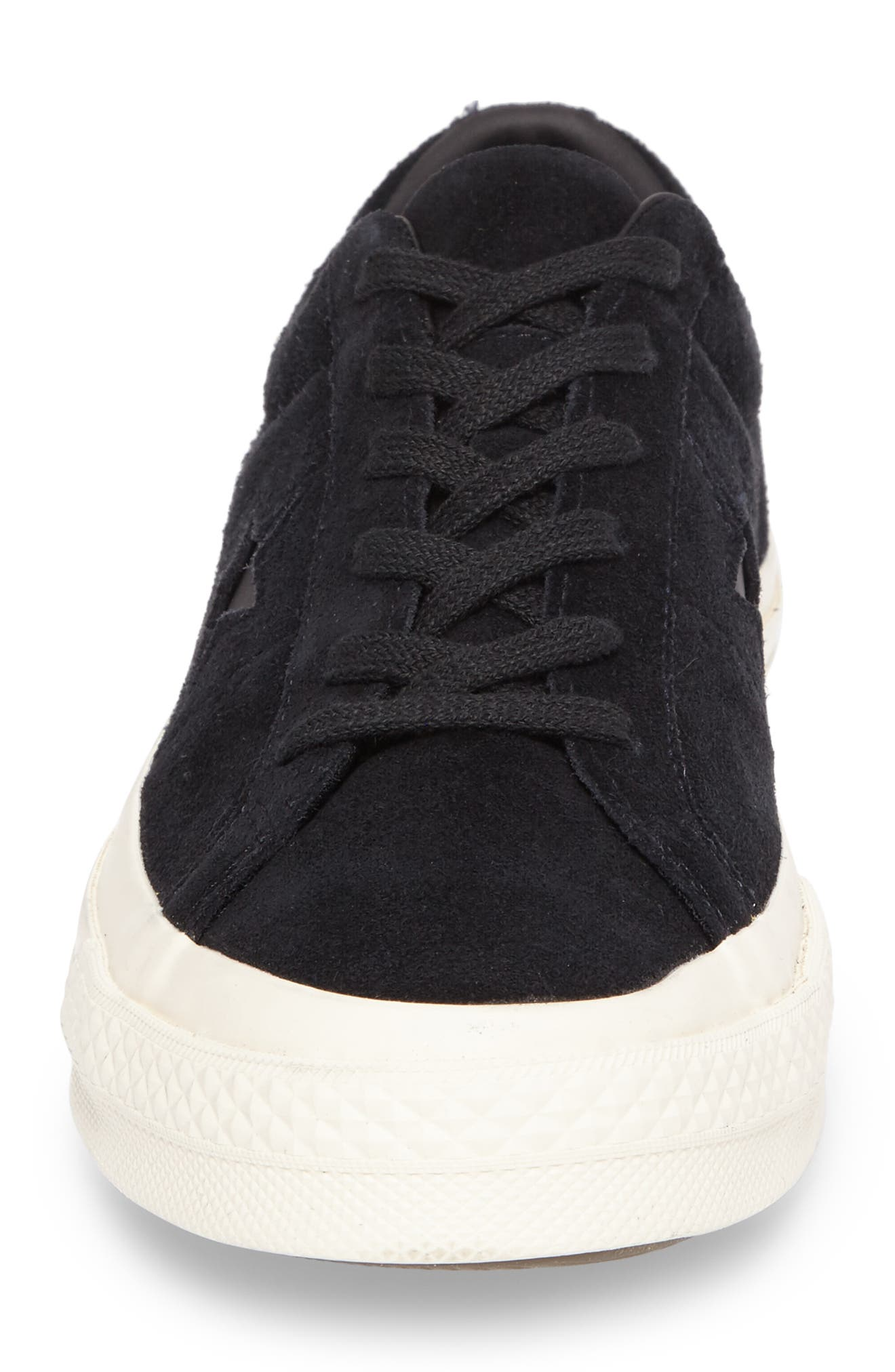 CONVERSE,                             One Star Sneaker,                             Alternate thumbnail 4, color,                             001