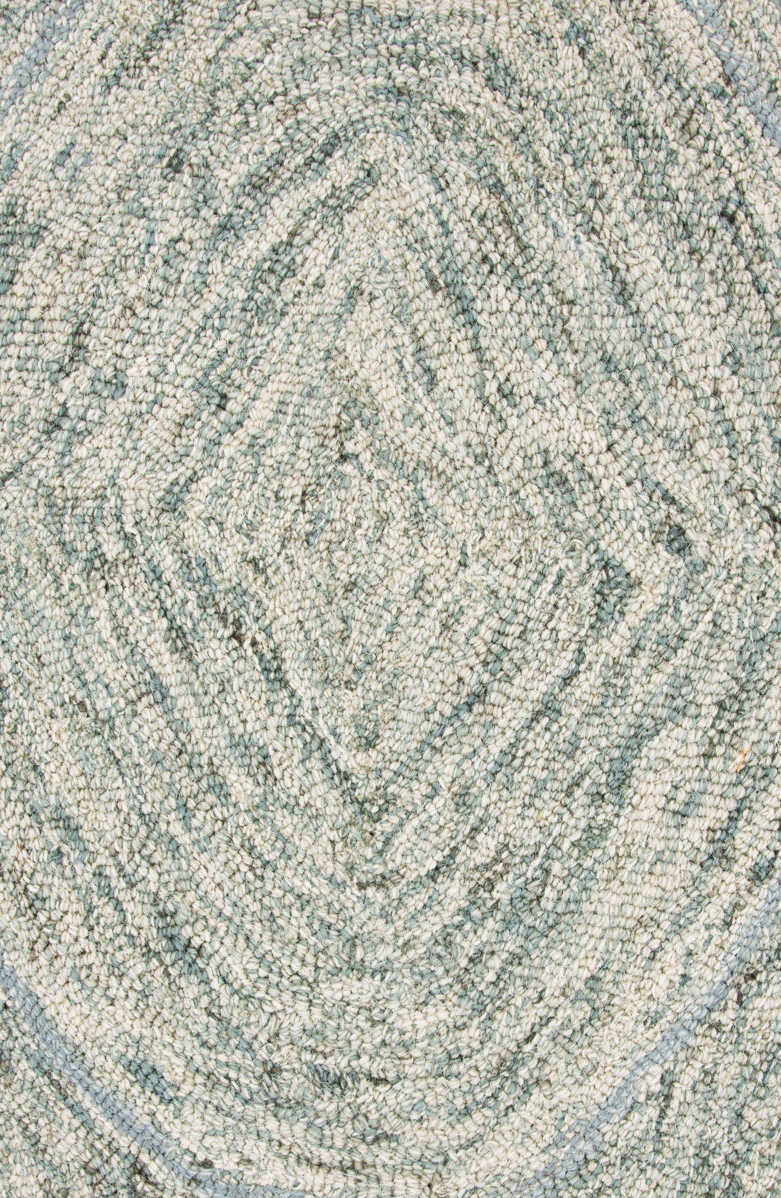 Irregular Diamond Hand Tufted Wool Area Rug,                             Alternate thumbnail 8, color,