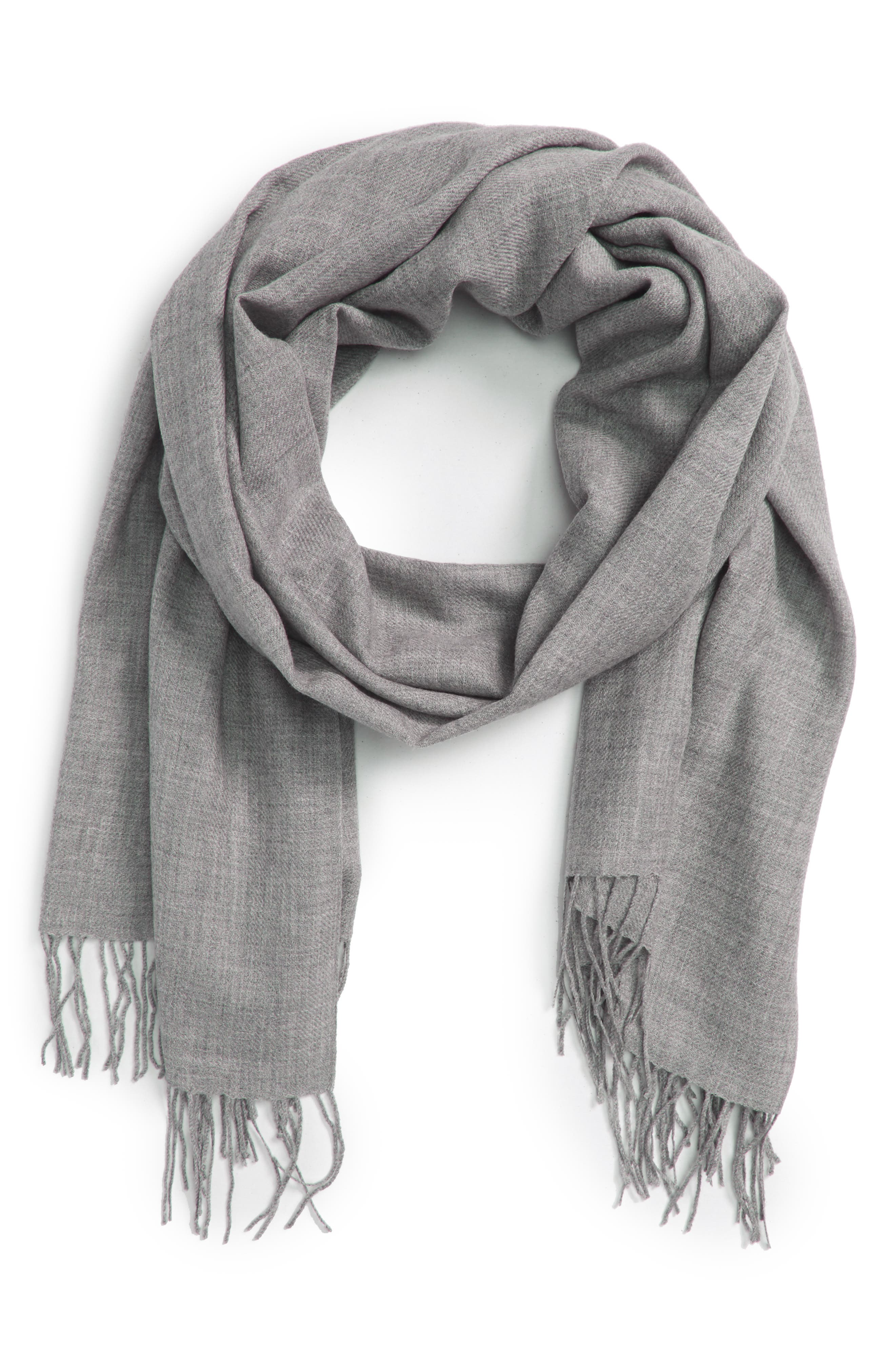 Tissue Weight Wool & Cashmere Scarf,                             Alternate thumbnail 84, color,