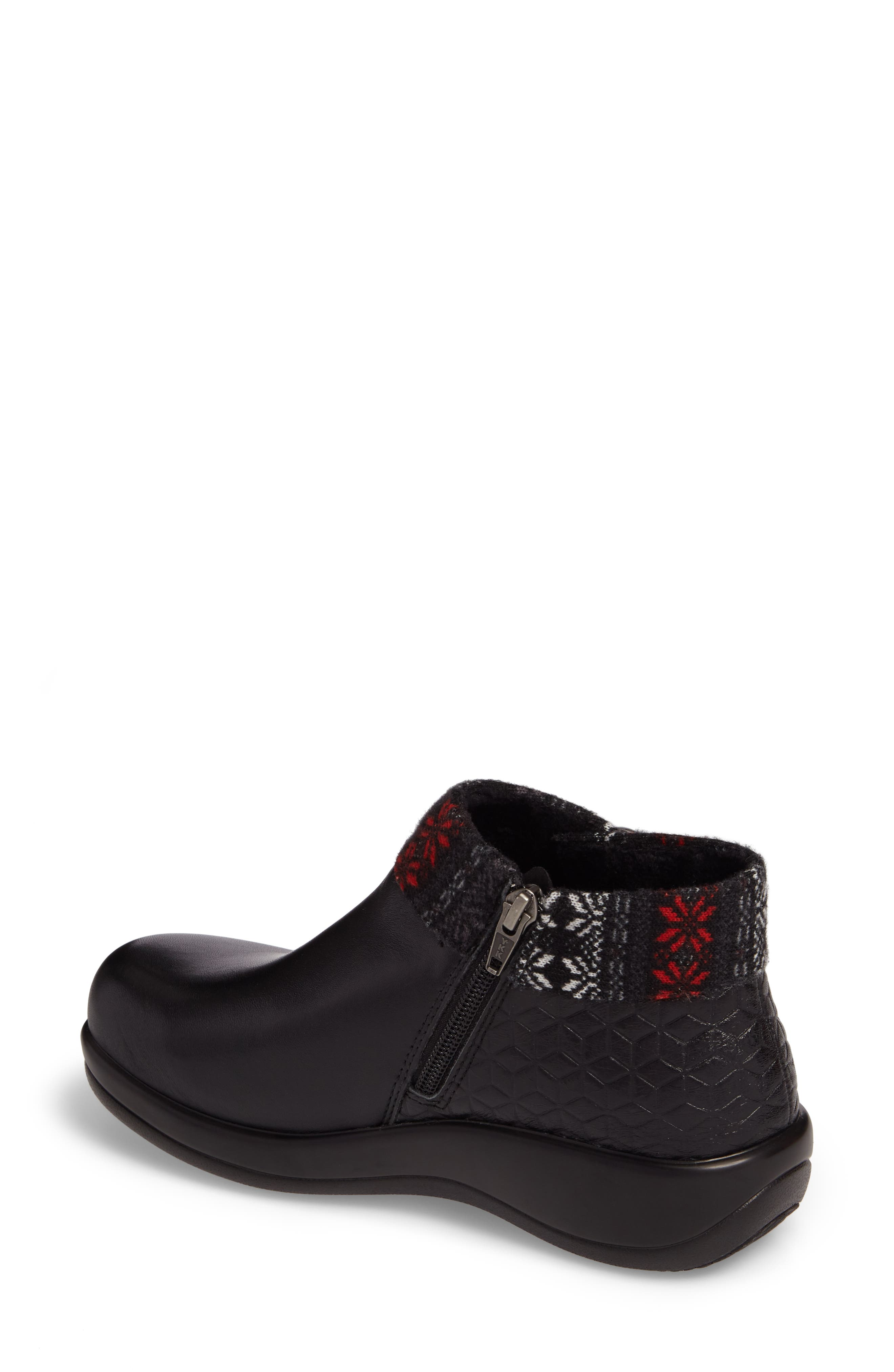 Sitka Knit Collar Bootie,                             Alternate thumbnail 2, color,                             002