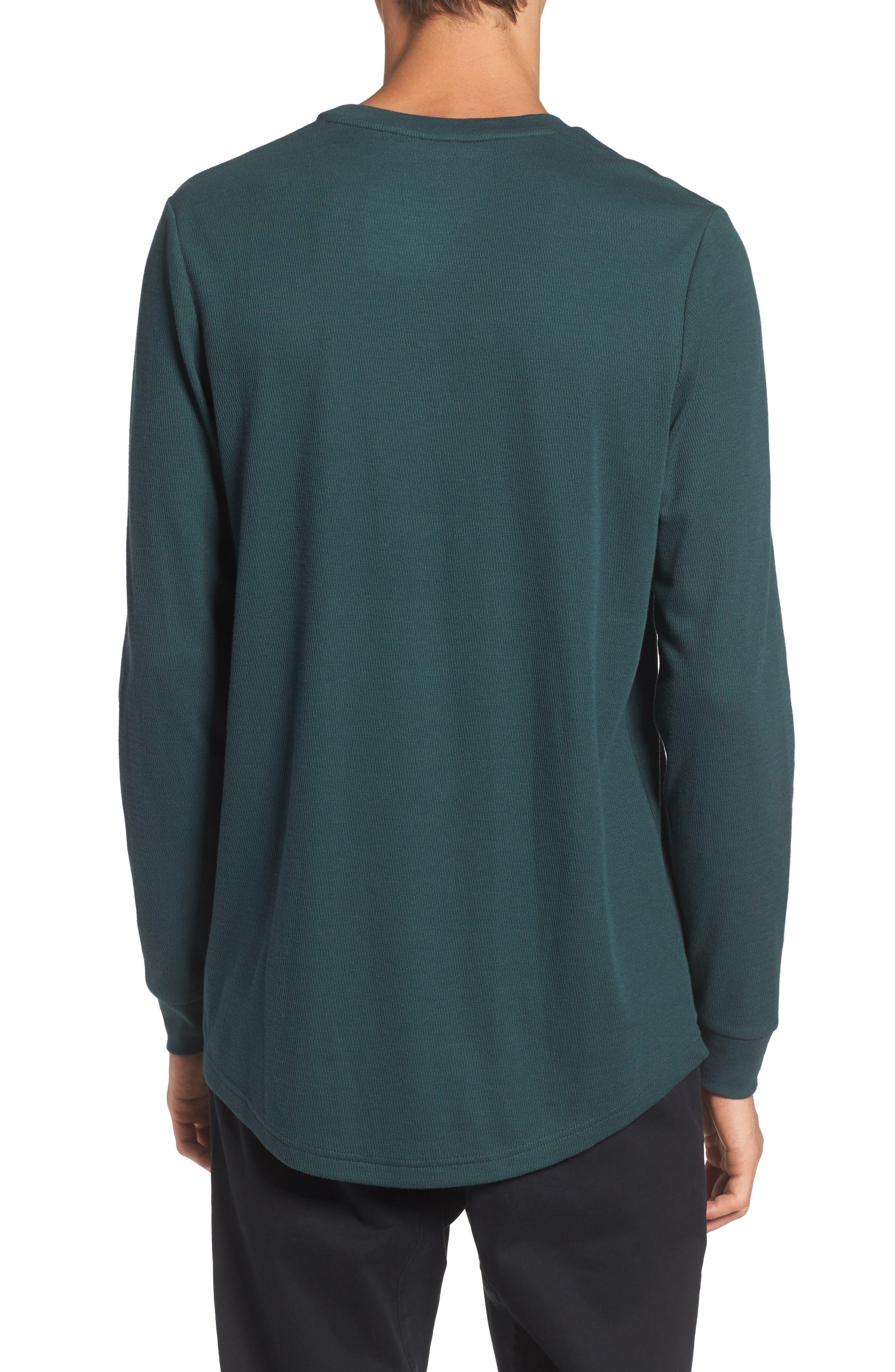 Longline Thermal T-Shirt,                             Alternate thumbnail 6, color,