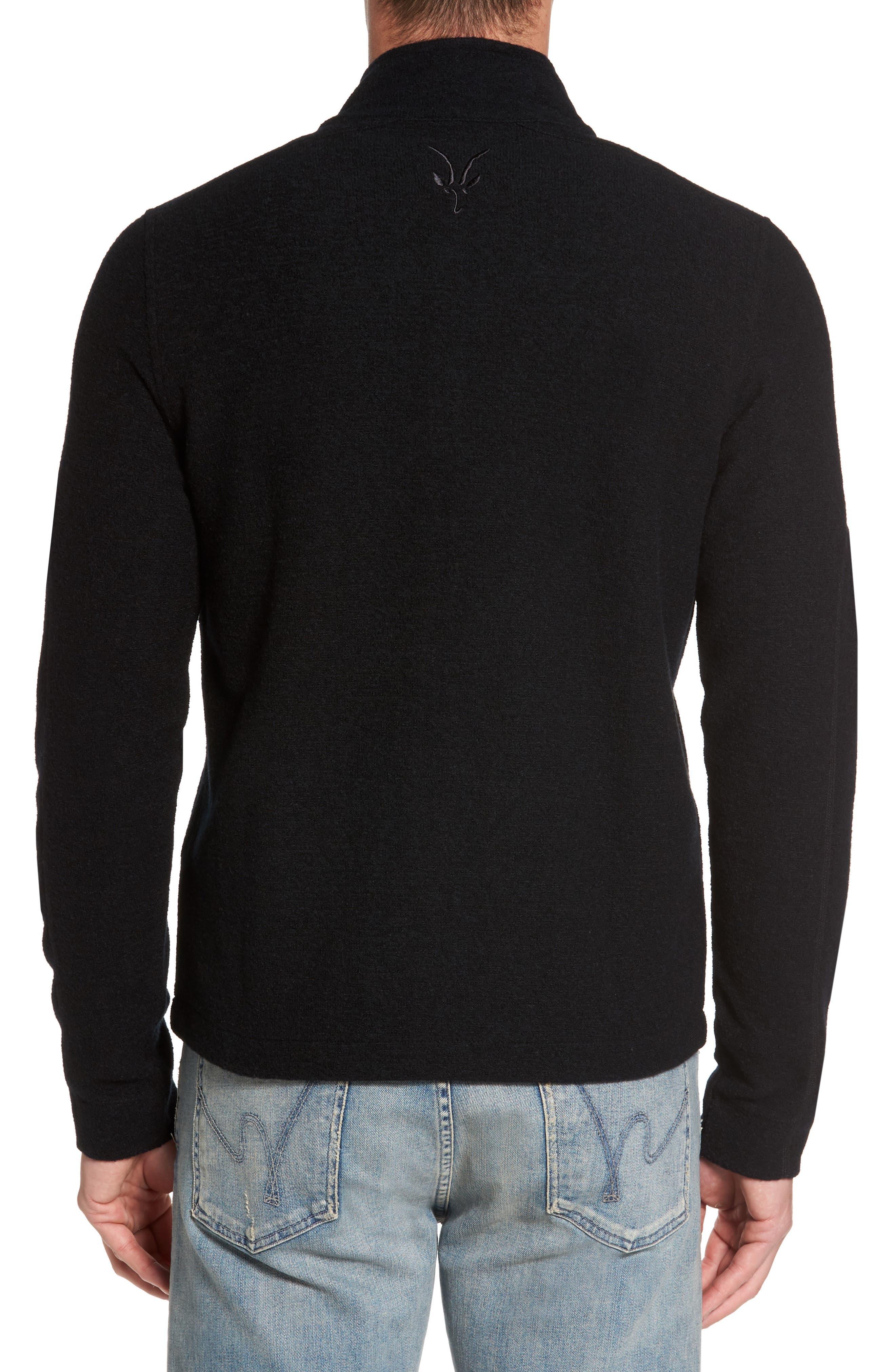 Scout Jura Merino Wool Blend Quarter Zip Pullover,                             Alternate thumbnail 6, color,