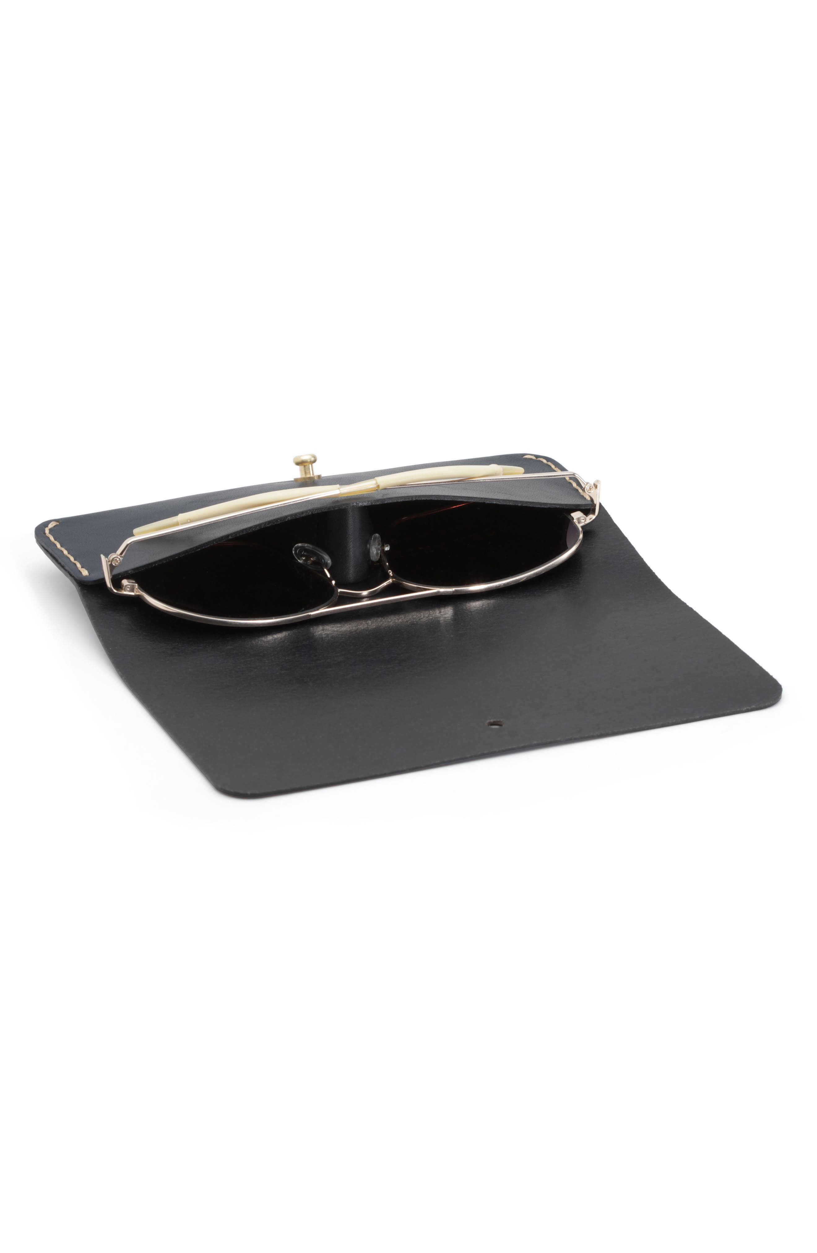 Leather Optical Case,                             Alternate thumbnail 3, color,                             005