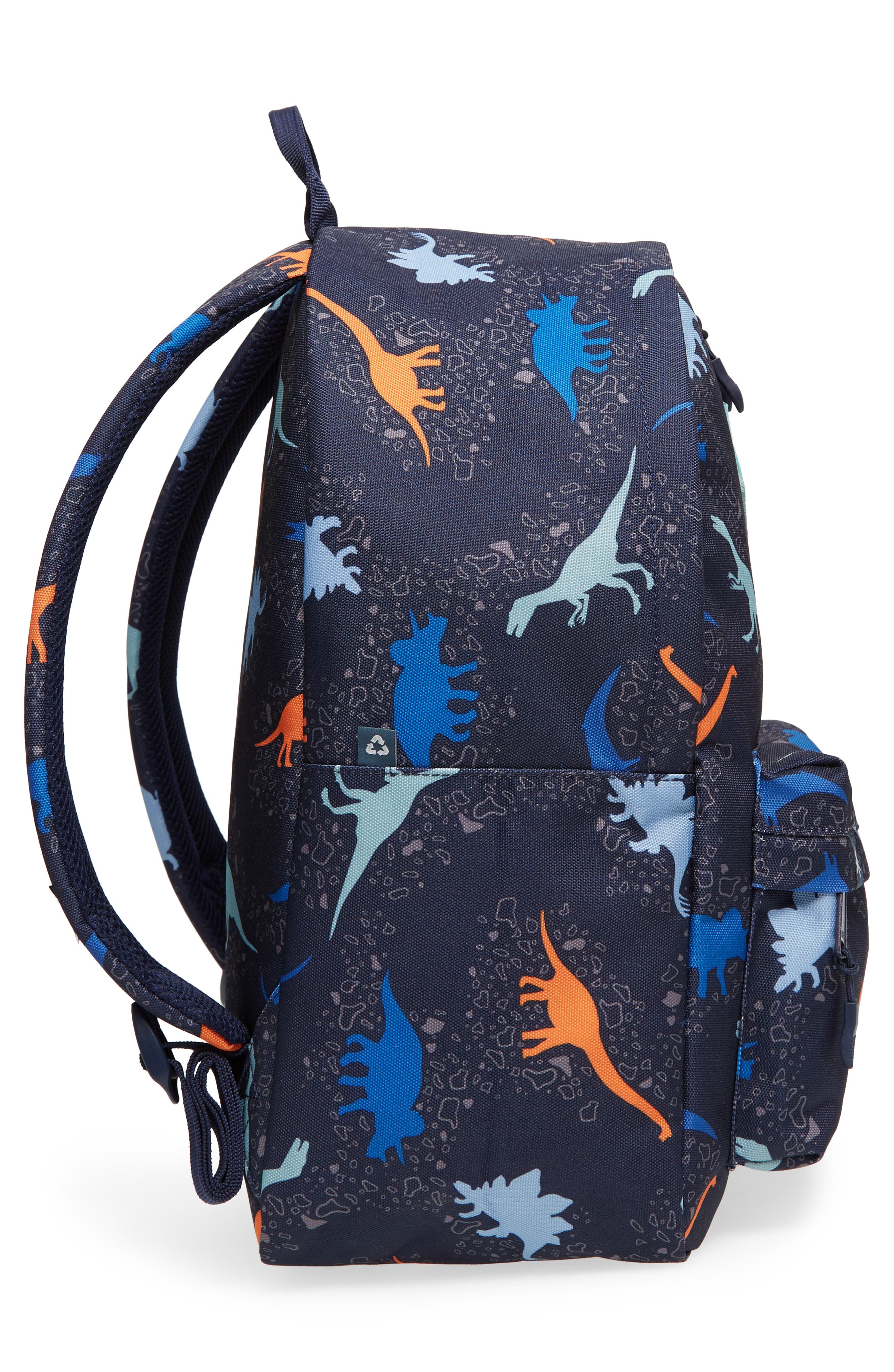 Bayside Print Backpack,                             Alternate thumbnail 4, color,                             200