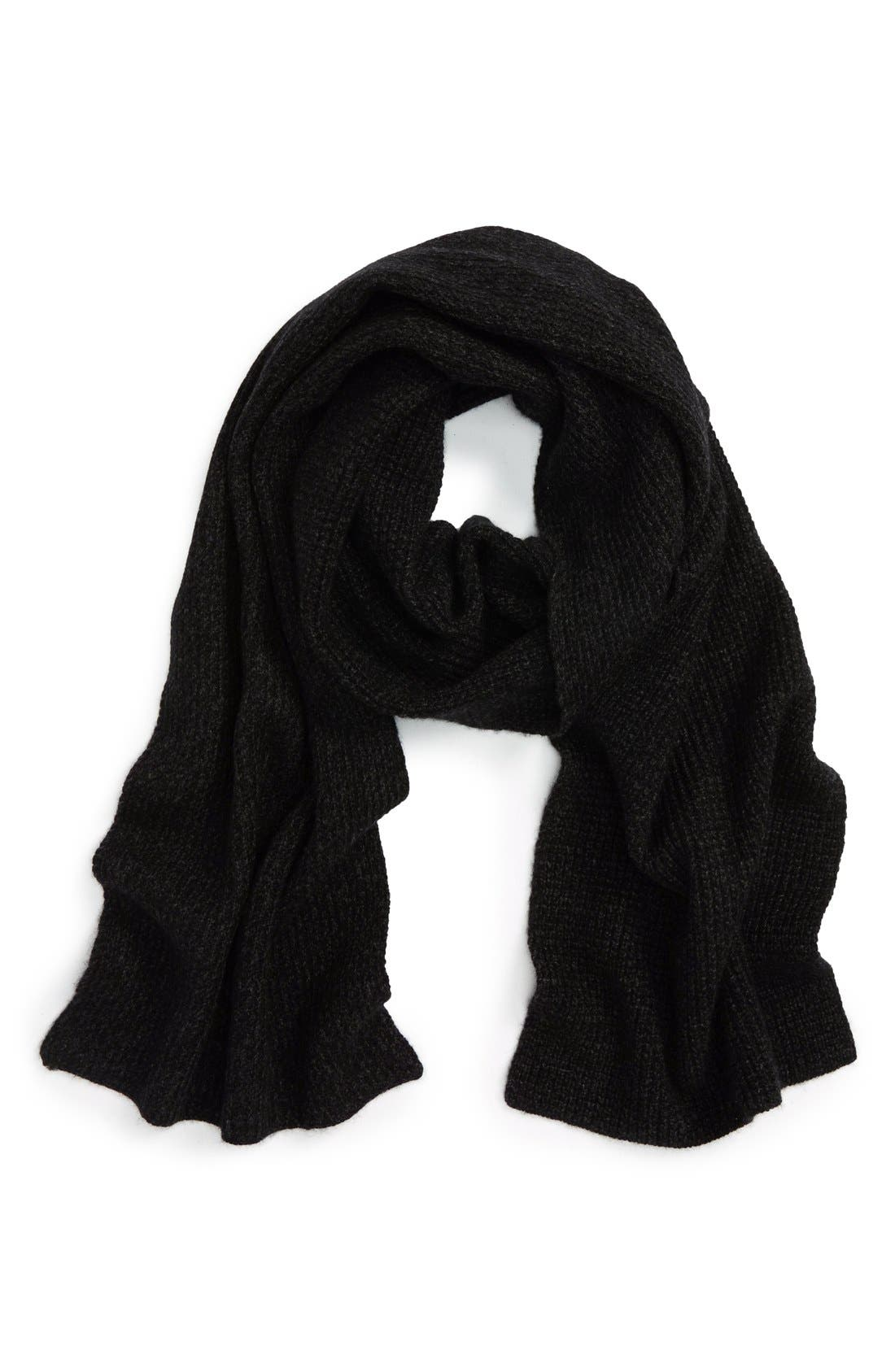 Wool & Cashmere Scarf,                             Main thumbnail 1, color,