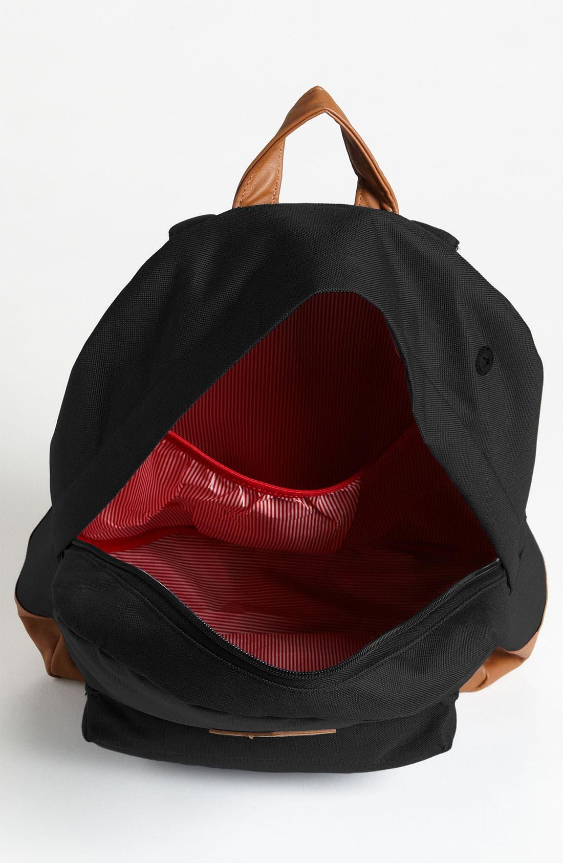 Heritage Backpack,                             Alternate thumbnail 5, color,                             BLACK