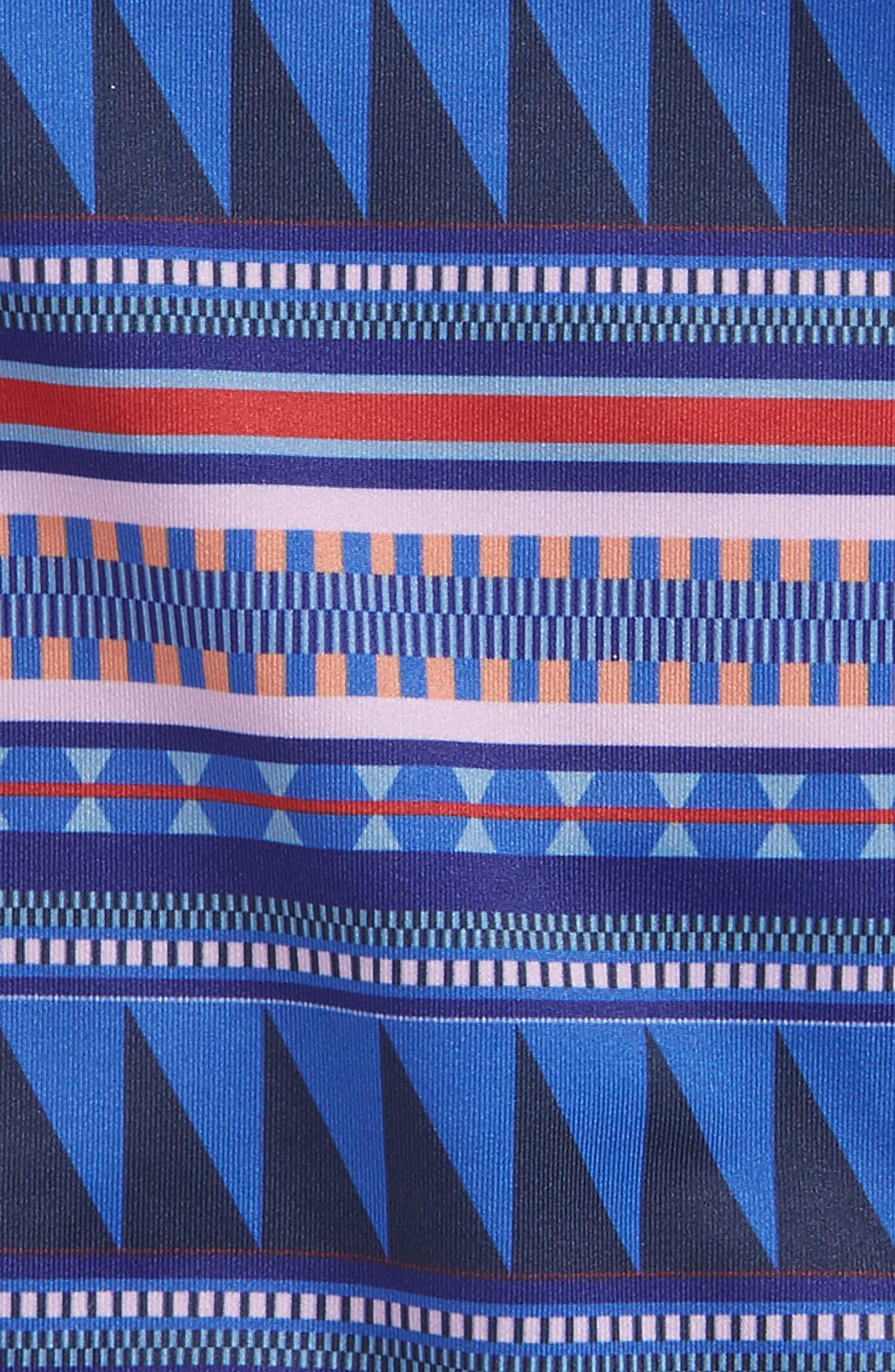 QT One-Piece Swimsuit,                             Alternate thumbnail 3, color,                             400
