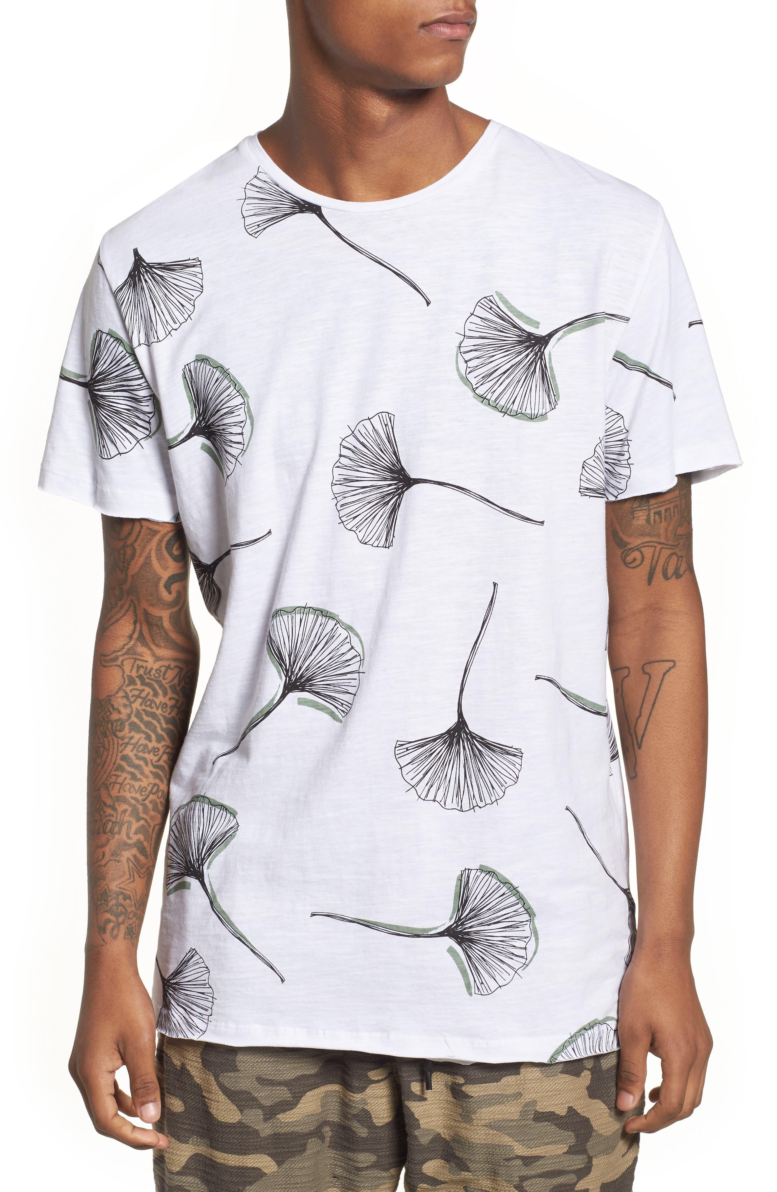 Allover Print T-Shirt,                         Main,                         color, 100