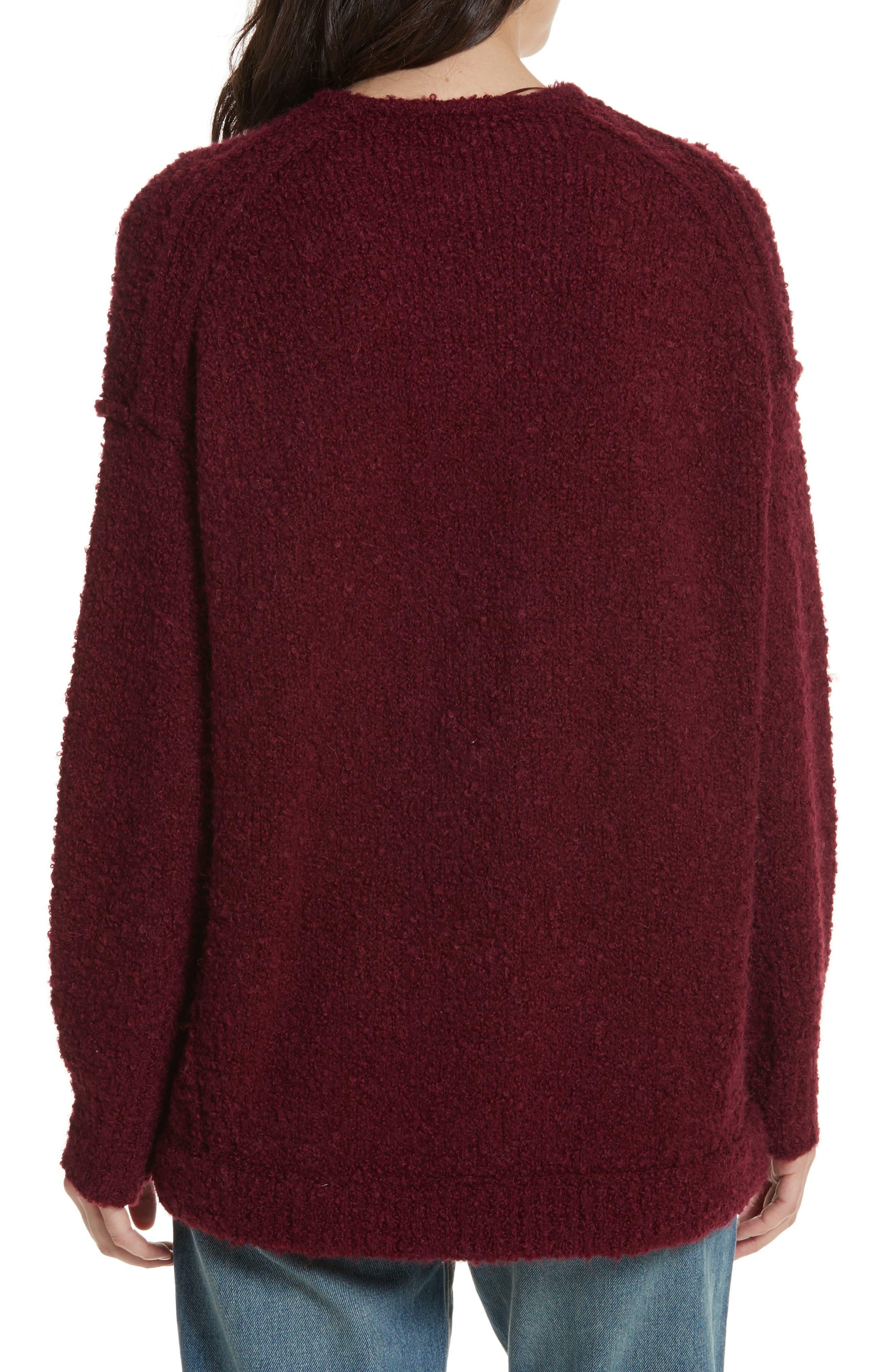 Lofty V-Neck Sweater,                             Alternate thumbnail 14, color,