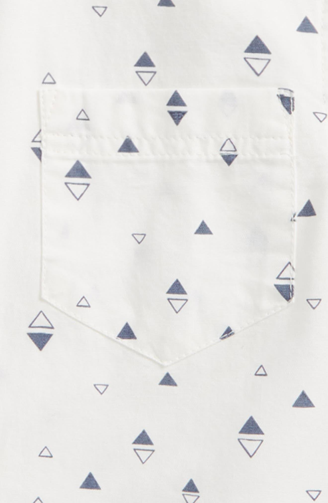 Print Woven Shirt,                             Alternate thumbnail 7, color,