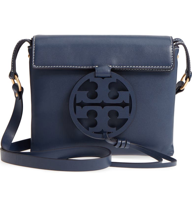 9cc6c9176a35f Tory Burch Miller Leather Crossbody Bag