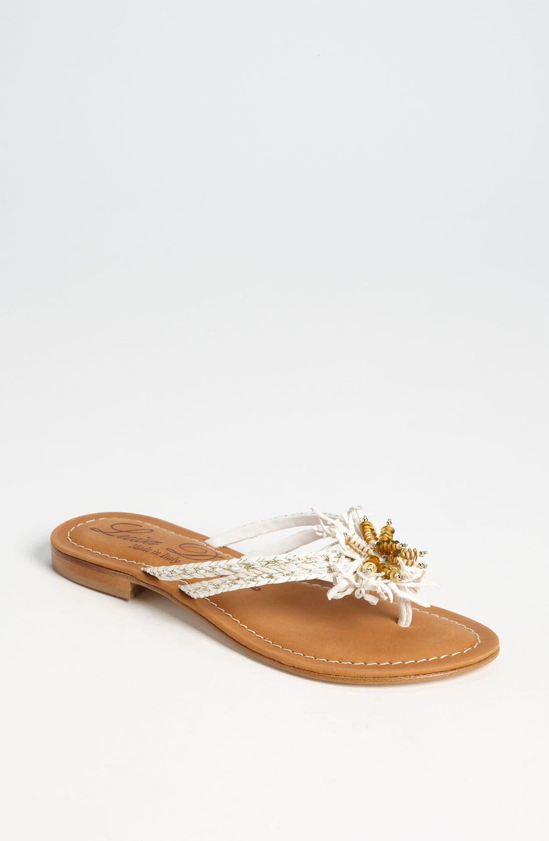 'Garland' Sandal,                         Main,                         color, 100