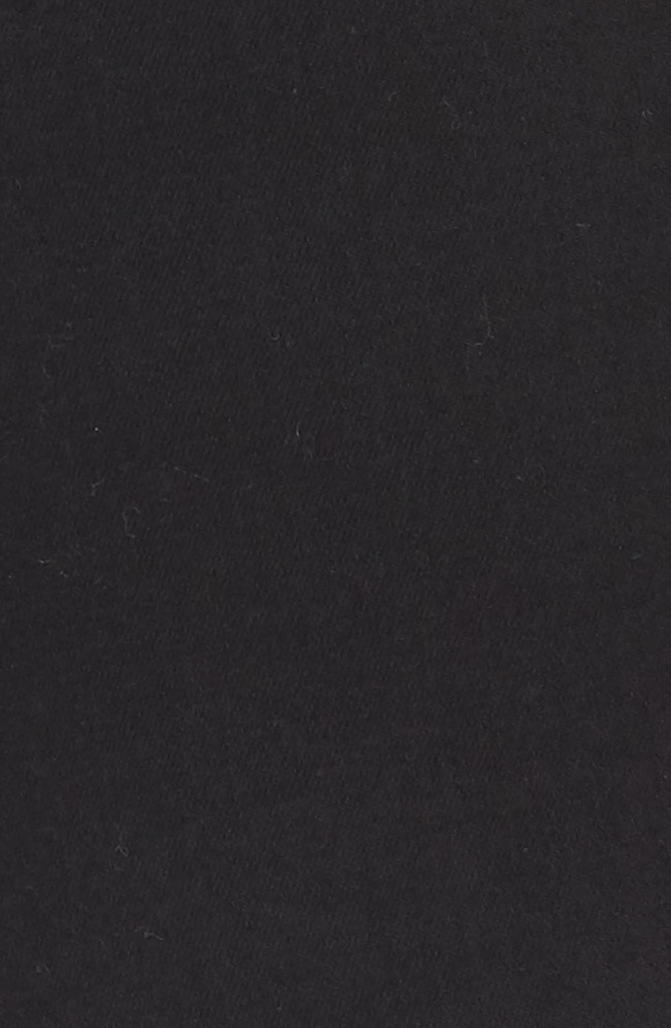 WIT & WISDOM, 30/11 Ab-solution High Waist Skinny Jeans, Alternate thumbnail 5, color, BLACK