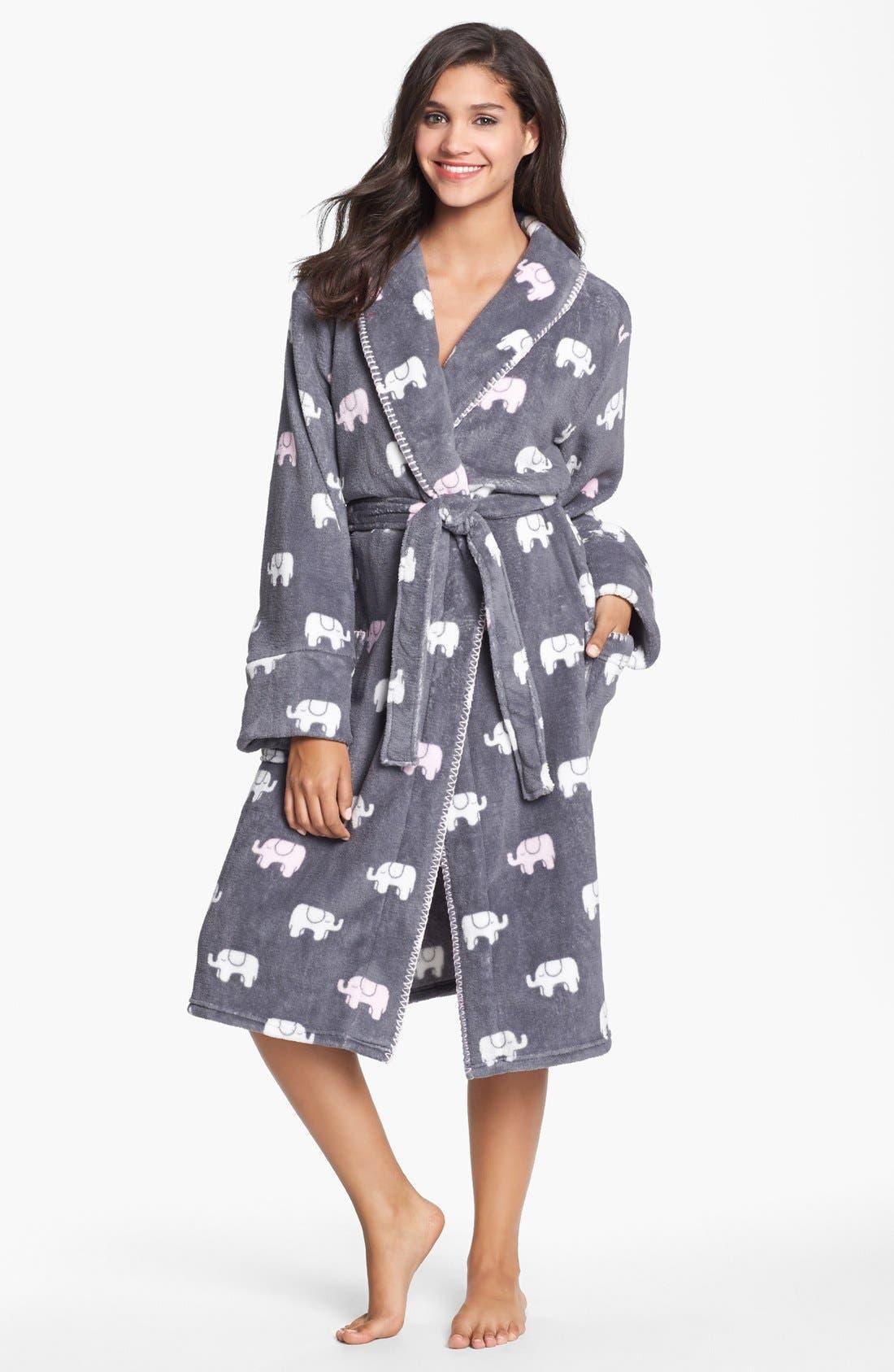 Plush Robe,                             Alternate thumbnail 5, color,                             020