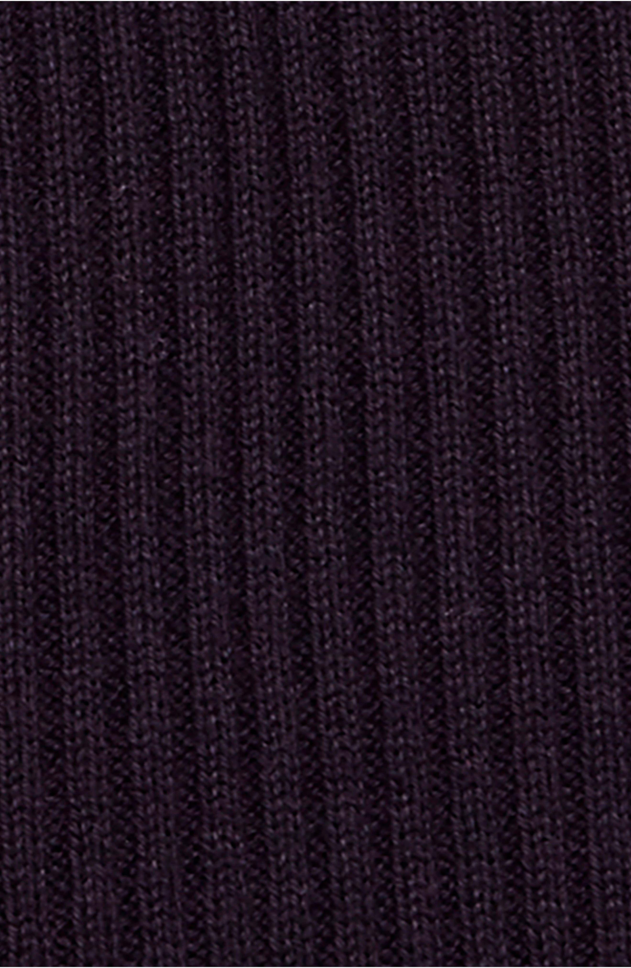 French Girl Sweater Minidress,                             Alternate thumbnail 6, color,                             001