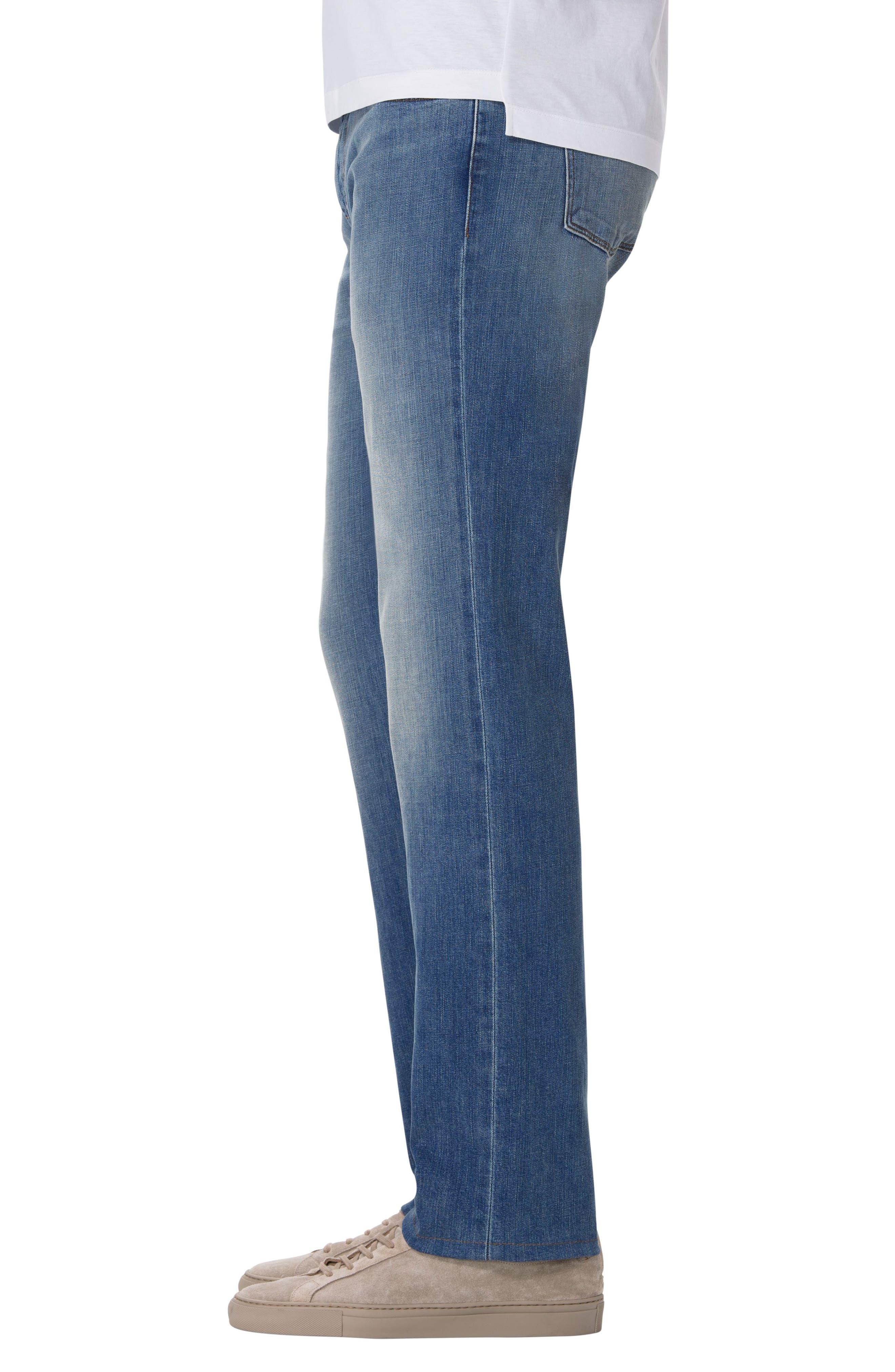 Kane Slim Straight Fit Jeans,                             Alternate thumbnail 3, color,                             452