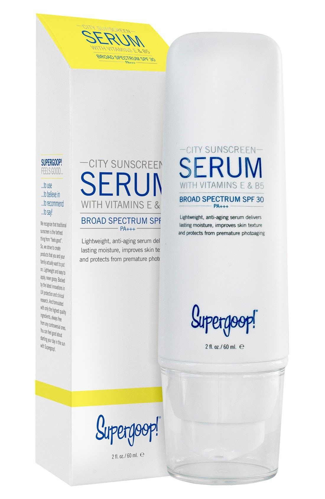 Supergoop! 'City Sunscreen' Serum SPF 30+ PA+++,                             Alternate thumbnail 4, color,                             NO COLOR