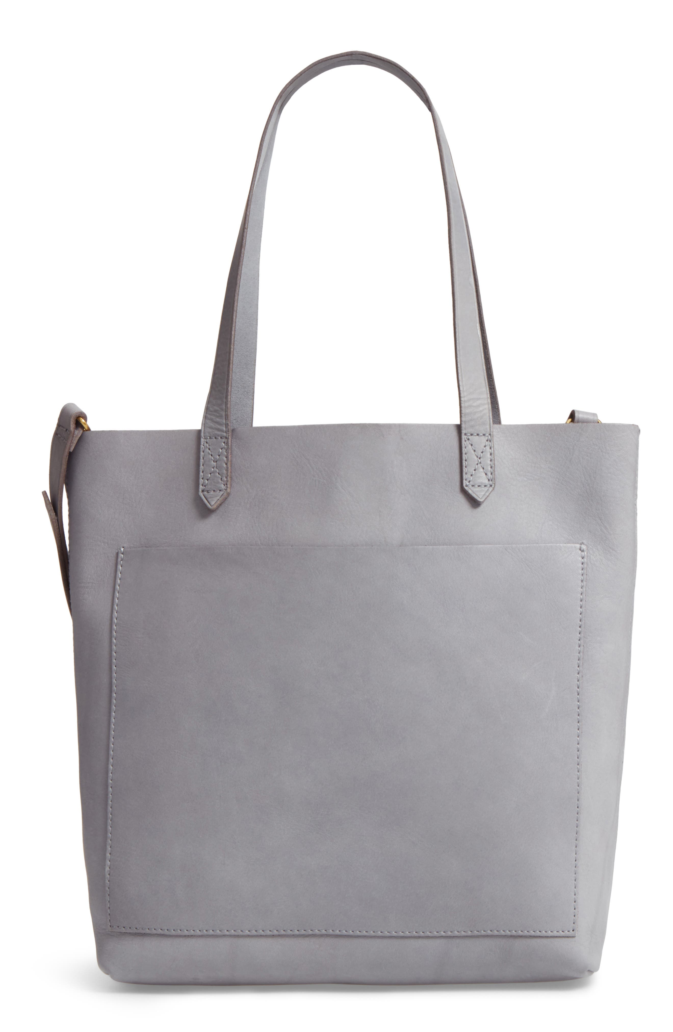 Medium Leather Transport Tote,                             Main thumbnail 2, color,