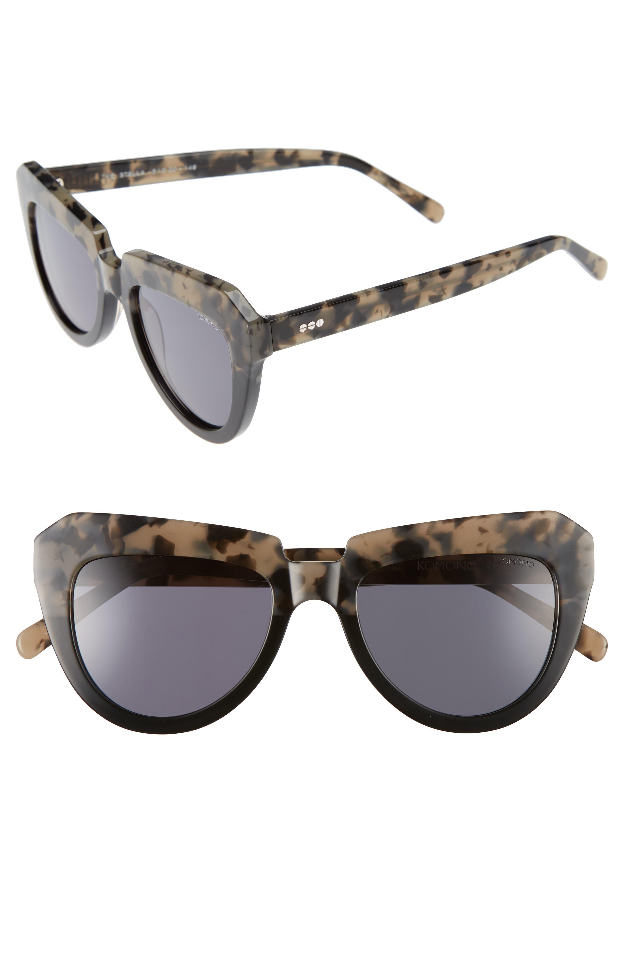 Stella 51mm Sunglasses,                             Alternate thumbnail 3, color,