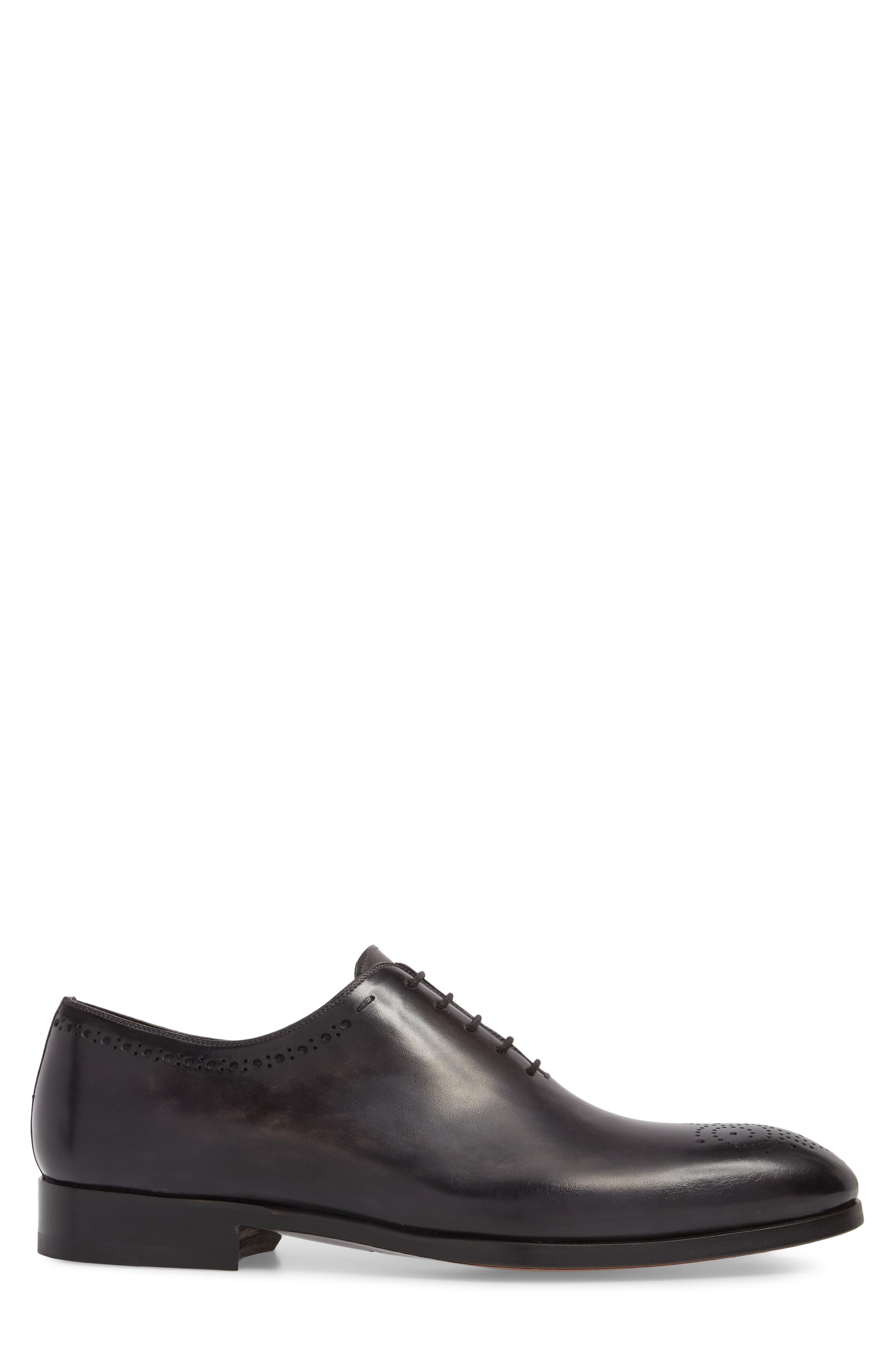 Paolo Brogued Whole Cut Shoe,                             Alternate thumbnail 3, color,                             020