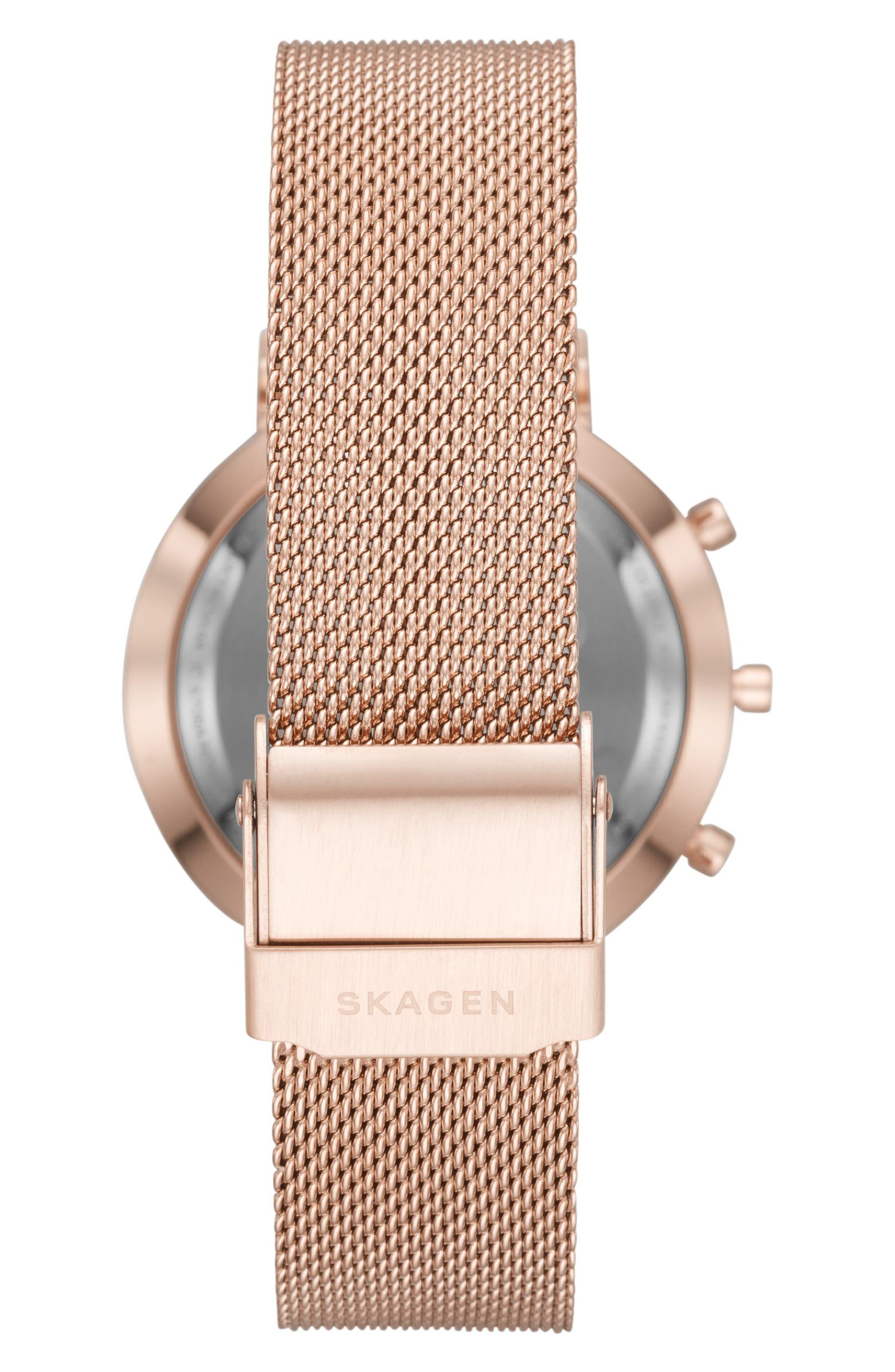 Hald Mesh Strap Hybrid Smart Watch, 34mm,                             Alternate thumbnail 13, color,