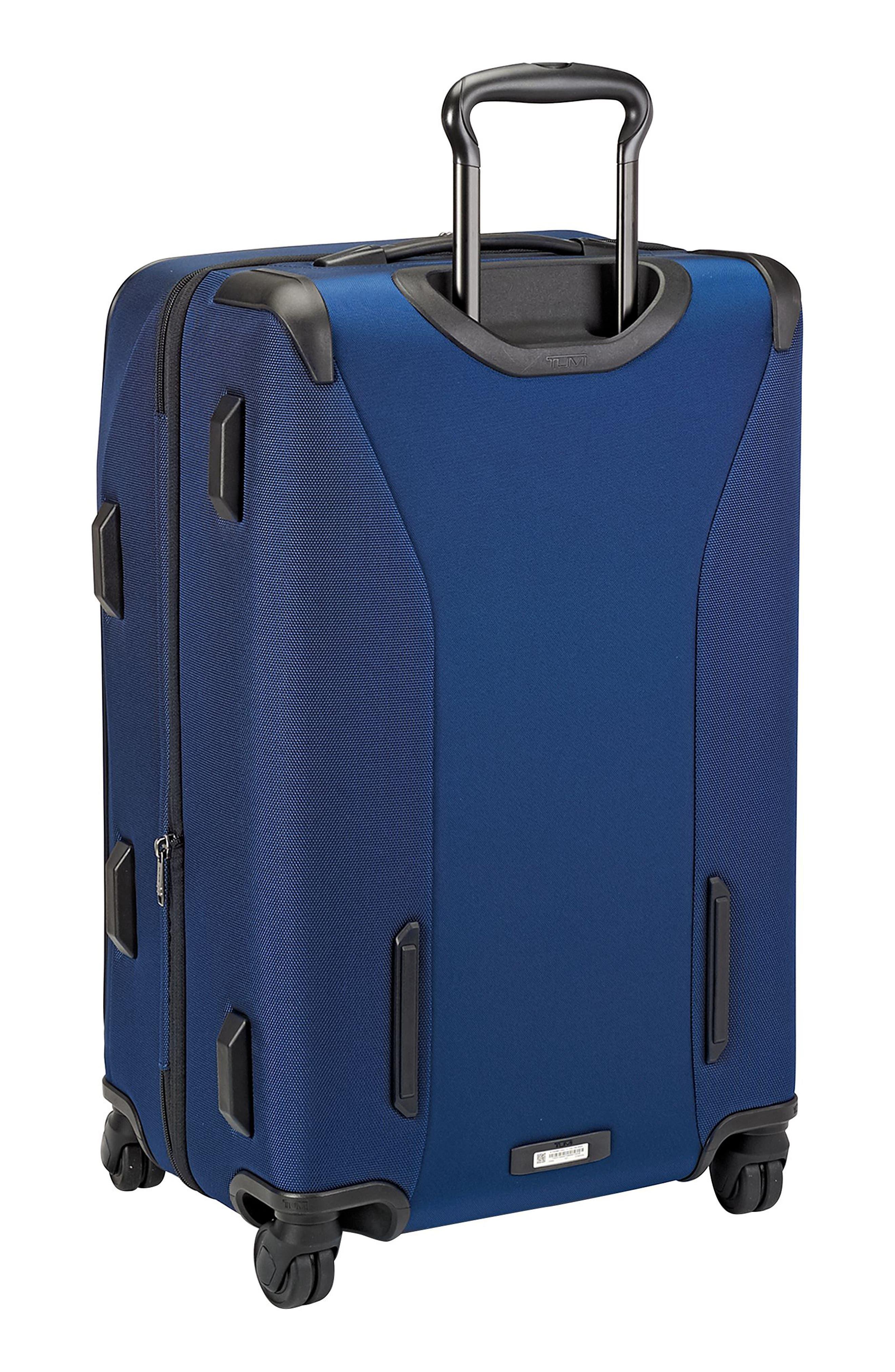 Merge - Short Trip Expandable Rolling Suitcase,                             Alternate thumbnail 4, color,                             OCEAN BLUE