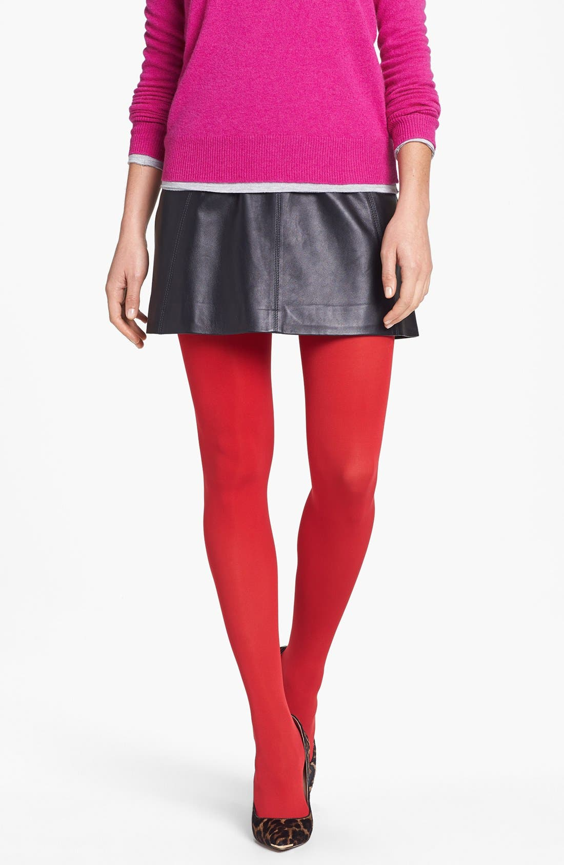 'Everyday' Opaque Tights,                             Main thumbnail 7, color,