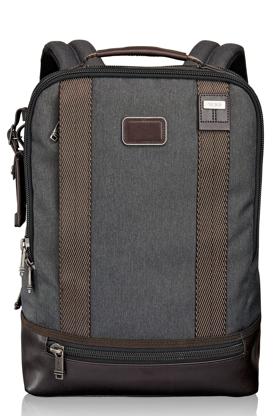 TUMI,                             Alpha Bravo Dover Backpack,                             Main thumbnail 1, color,                             010