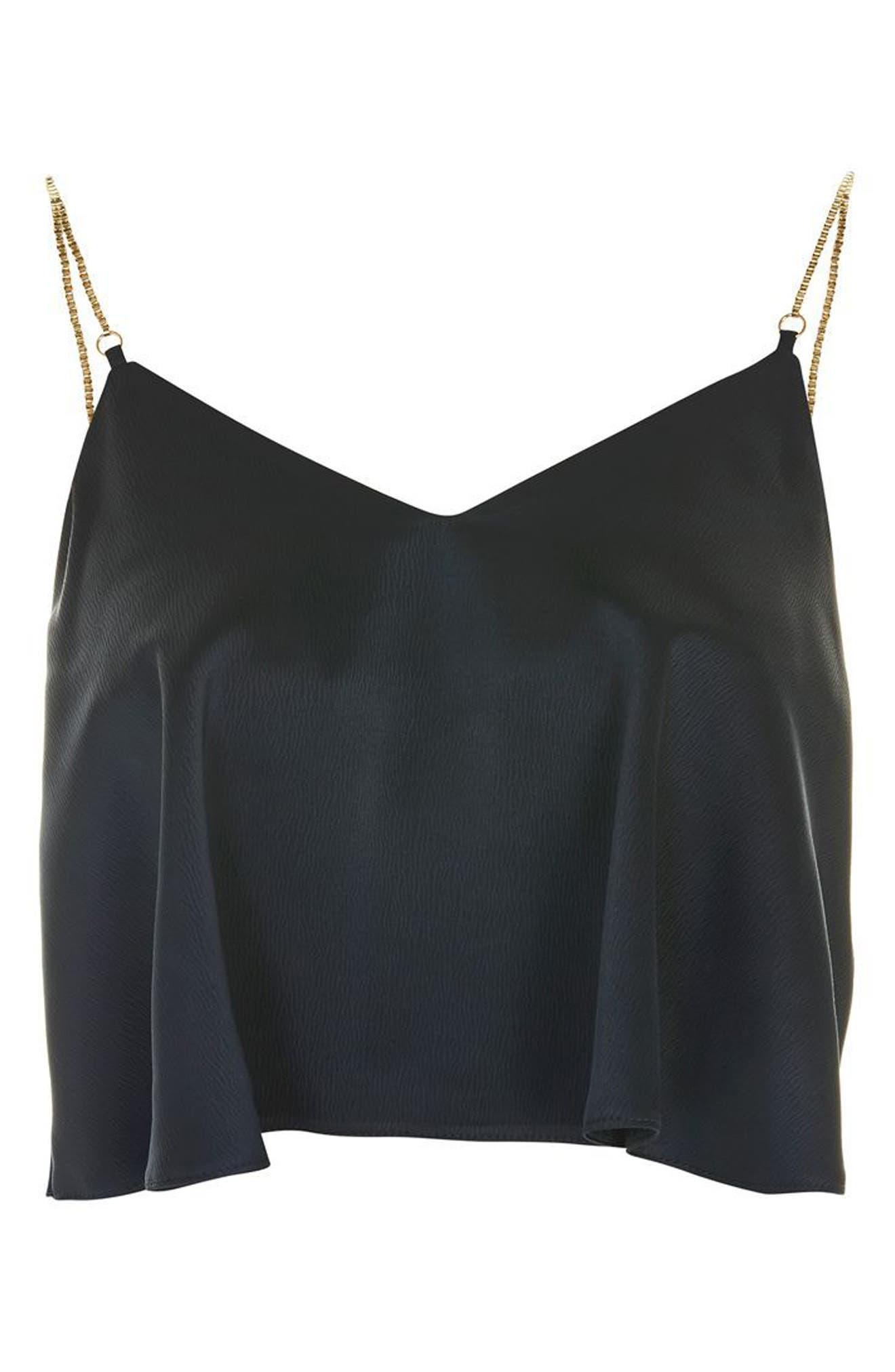 Chain Strap Camisole Top,                             Alternate thumbnail 12, color,