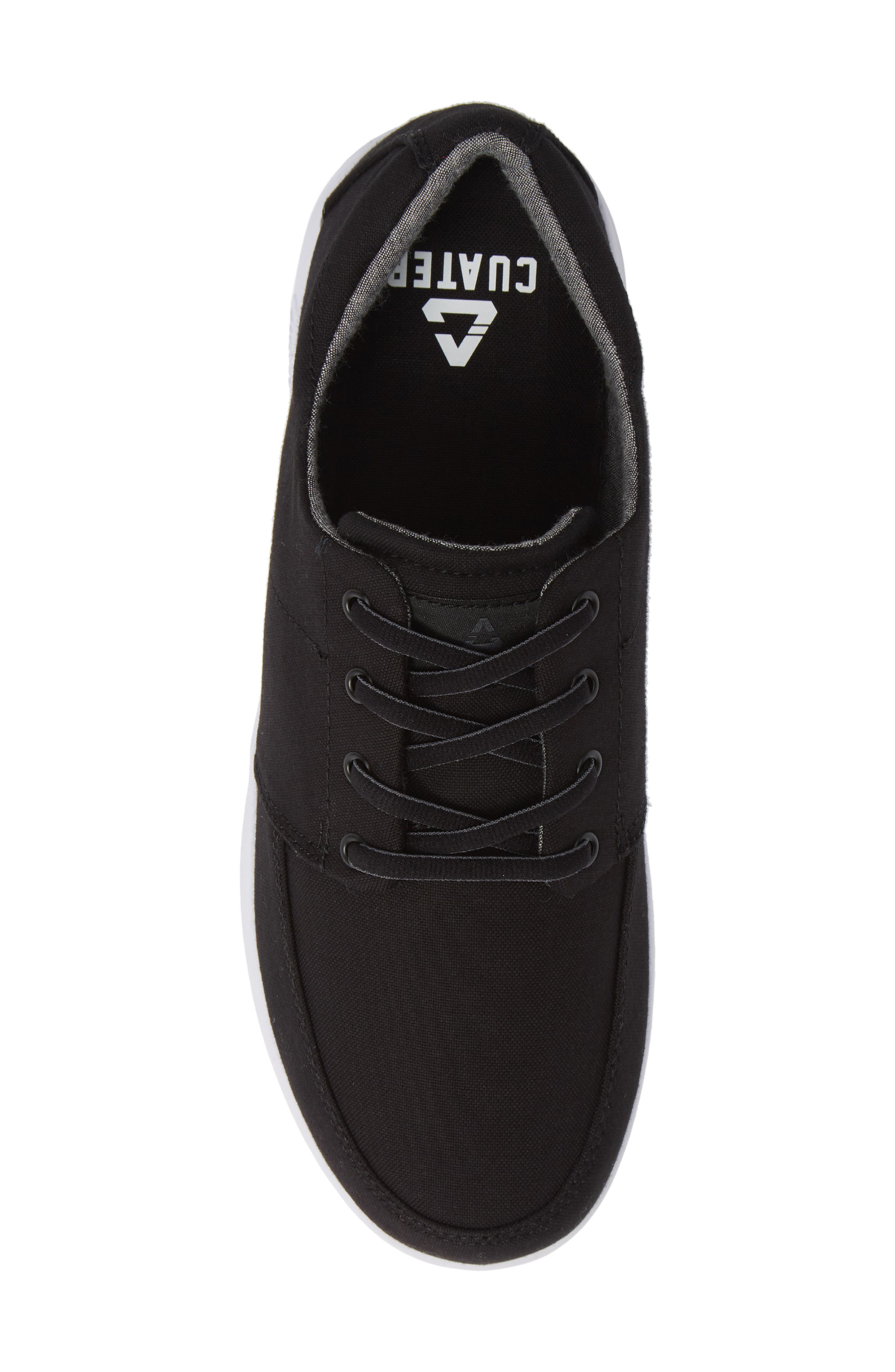 Cuater by Travis Mathew  Quincy Sneaker,                             Alternate thumbnail 5, color,                             BLACK