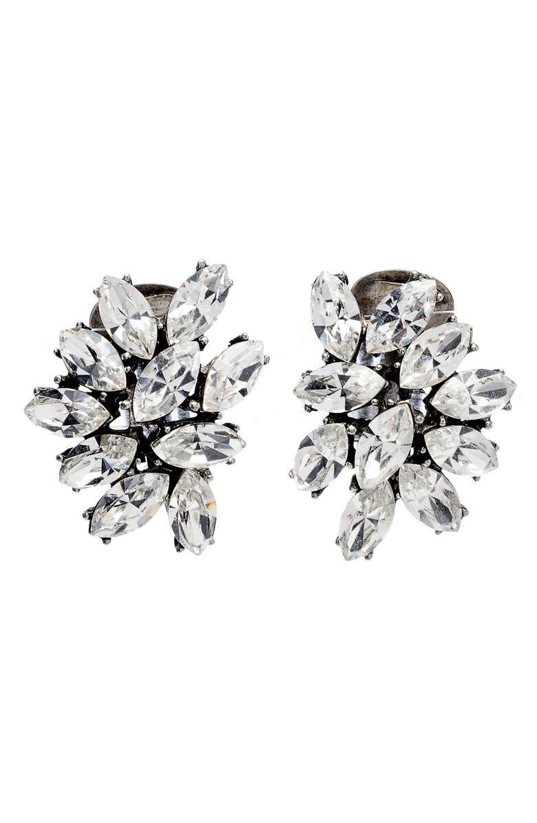 Swarovski Crystal Cer Clip Earrings