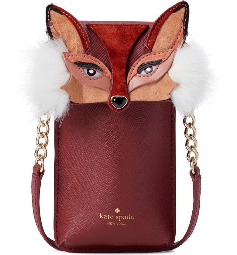 kate spade new york fox iPhone crossbody bag | Nordstrom