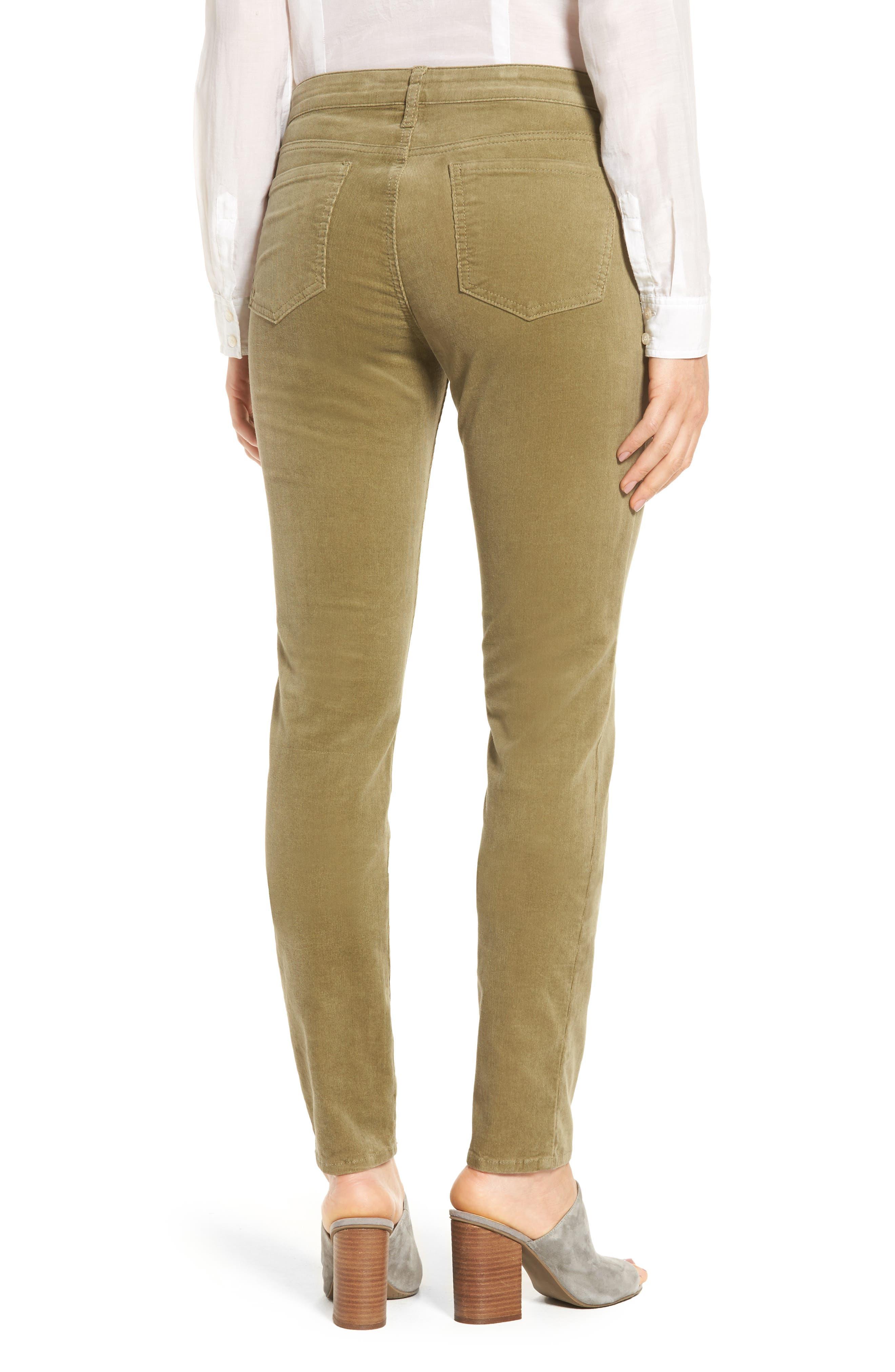 'Diana' Stretch Corduroy Skinny Pants,                             Alternate thumbnail 80, color,
