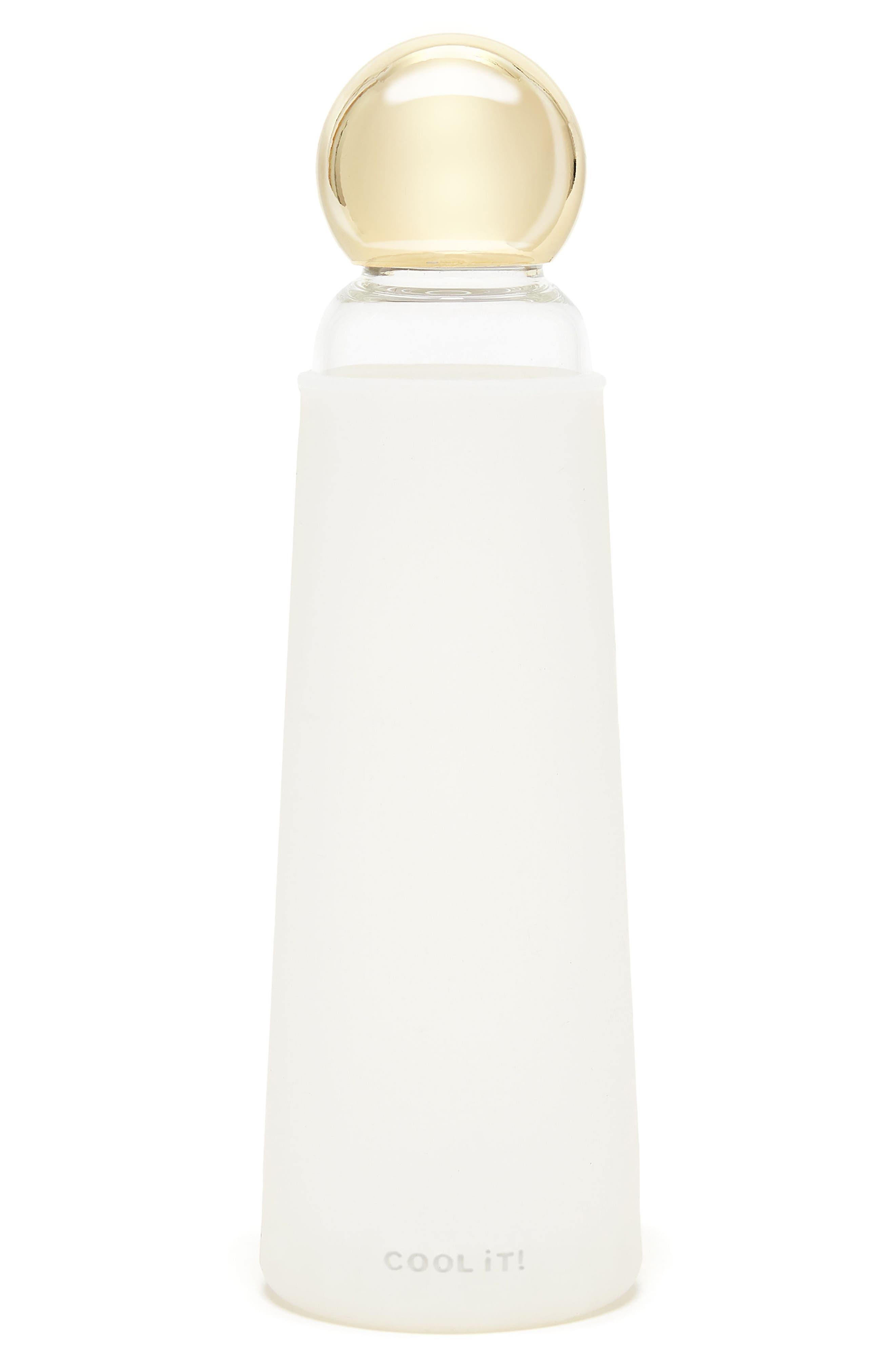 Glass Water Bottle,                             Main thumbnail 1, color,                             100