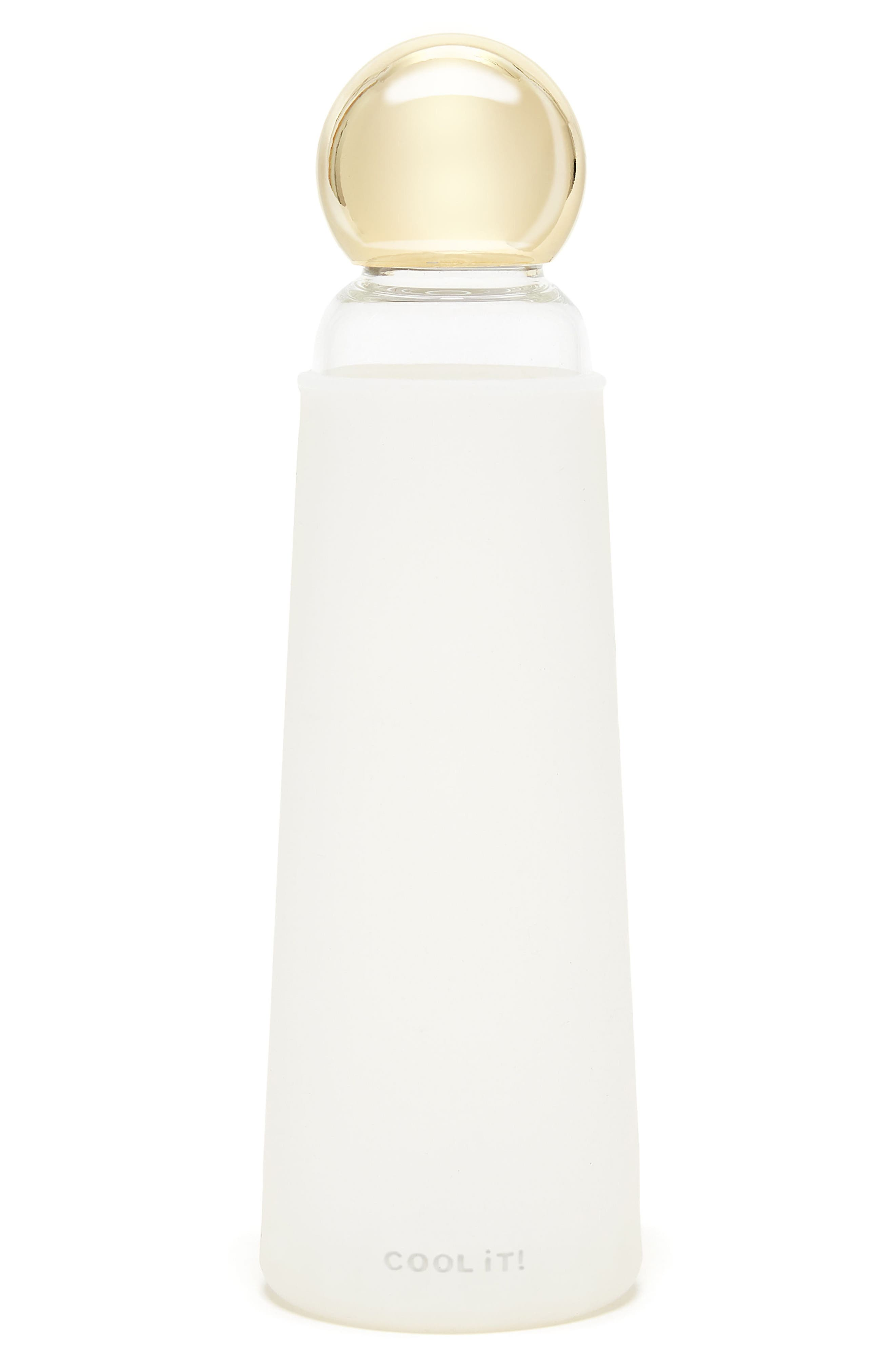Glass Water Bottle,                         Main,                         color, 100