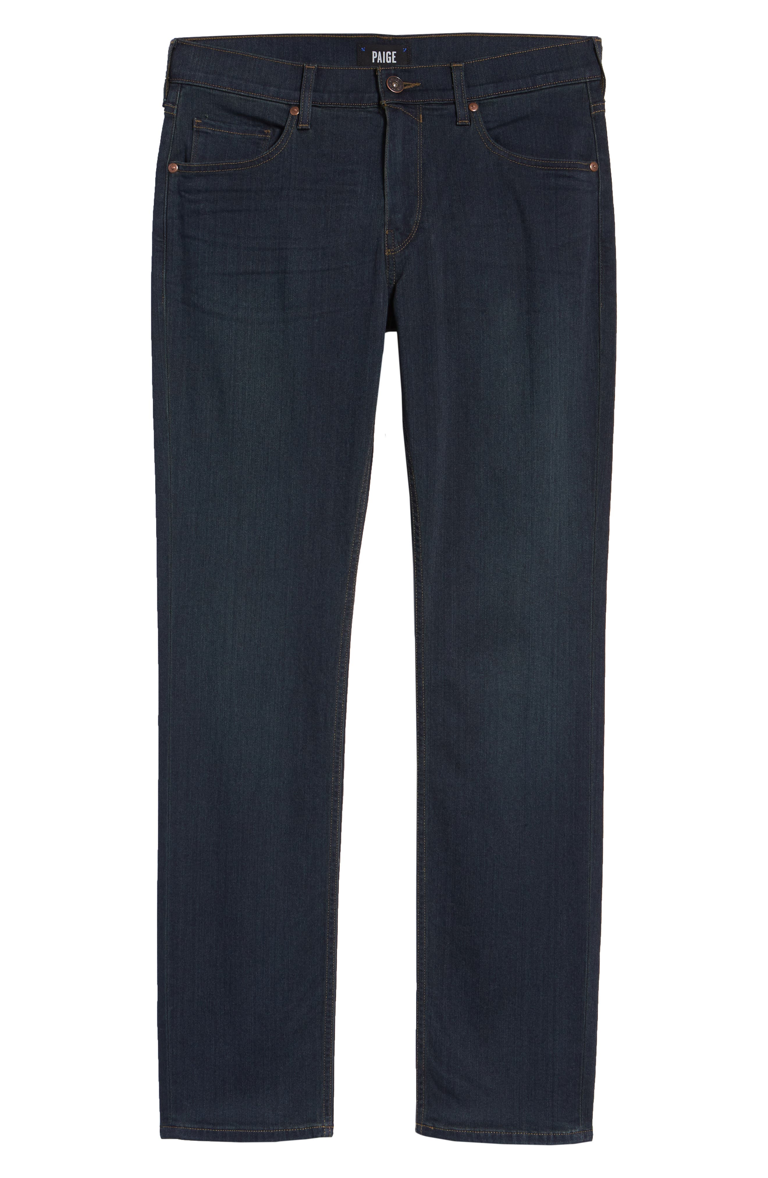 PAIGE,                             Transcend - Federal Slim Straight Leg Jeans,                             Alternate thumbnail 2, color,                             CELLAR