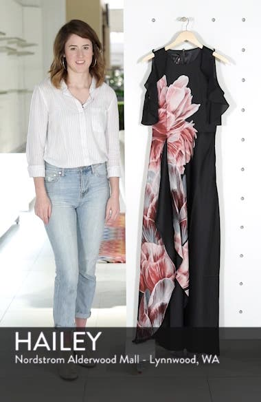 Ulrika Tranquility Ruffle Maxi Dress, sales video thumbnail