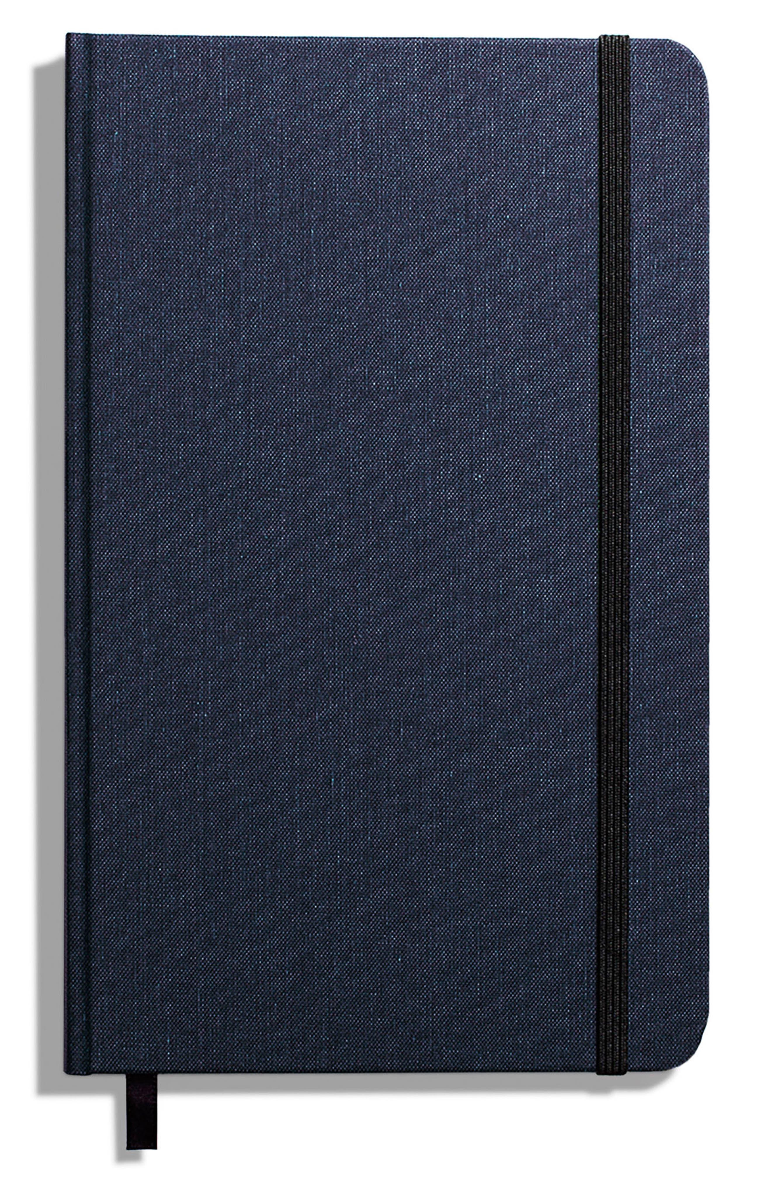 Hardcover Linen Journal,                         Main,                         color, NAVY