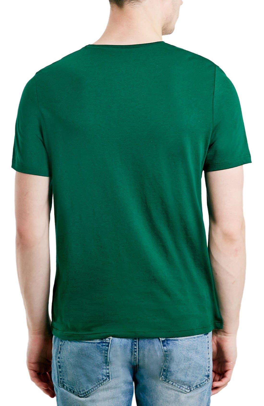 Slim Fit Crewneck T-Shirt,                             Alternate thumbnail 146, color,