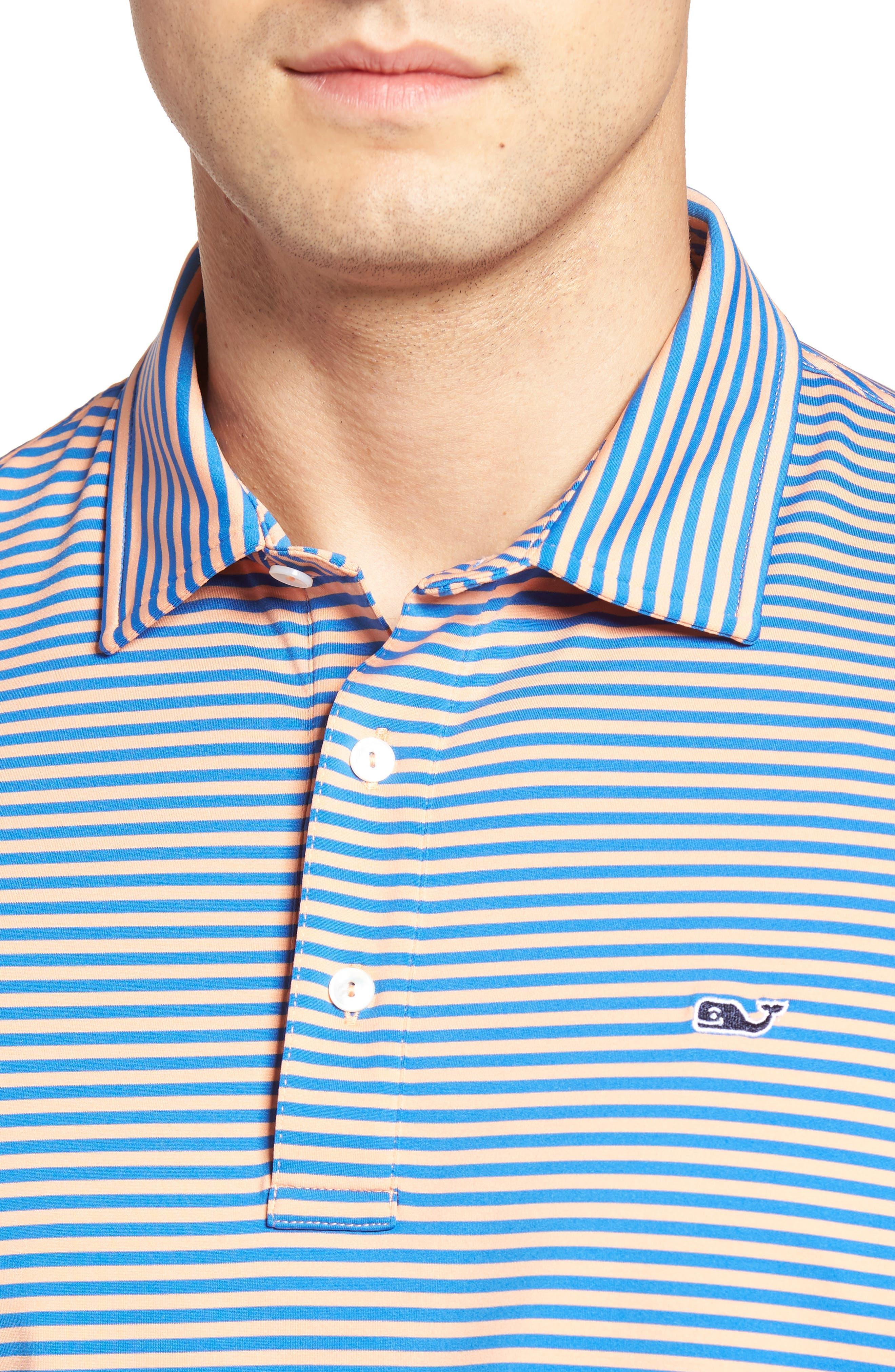Kennedy Stripe Golf Polo,                             Alternate thumbnail 76, color,