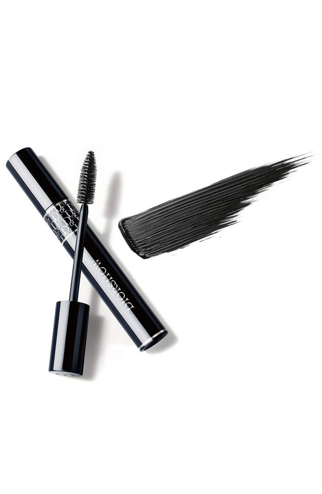 Diorshow Lash-Extension Effect Volume Mascara,                             Alternate thumbnail 7, color,                             090 BLACK