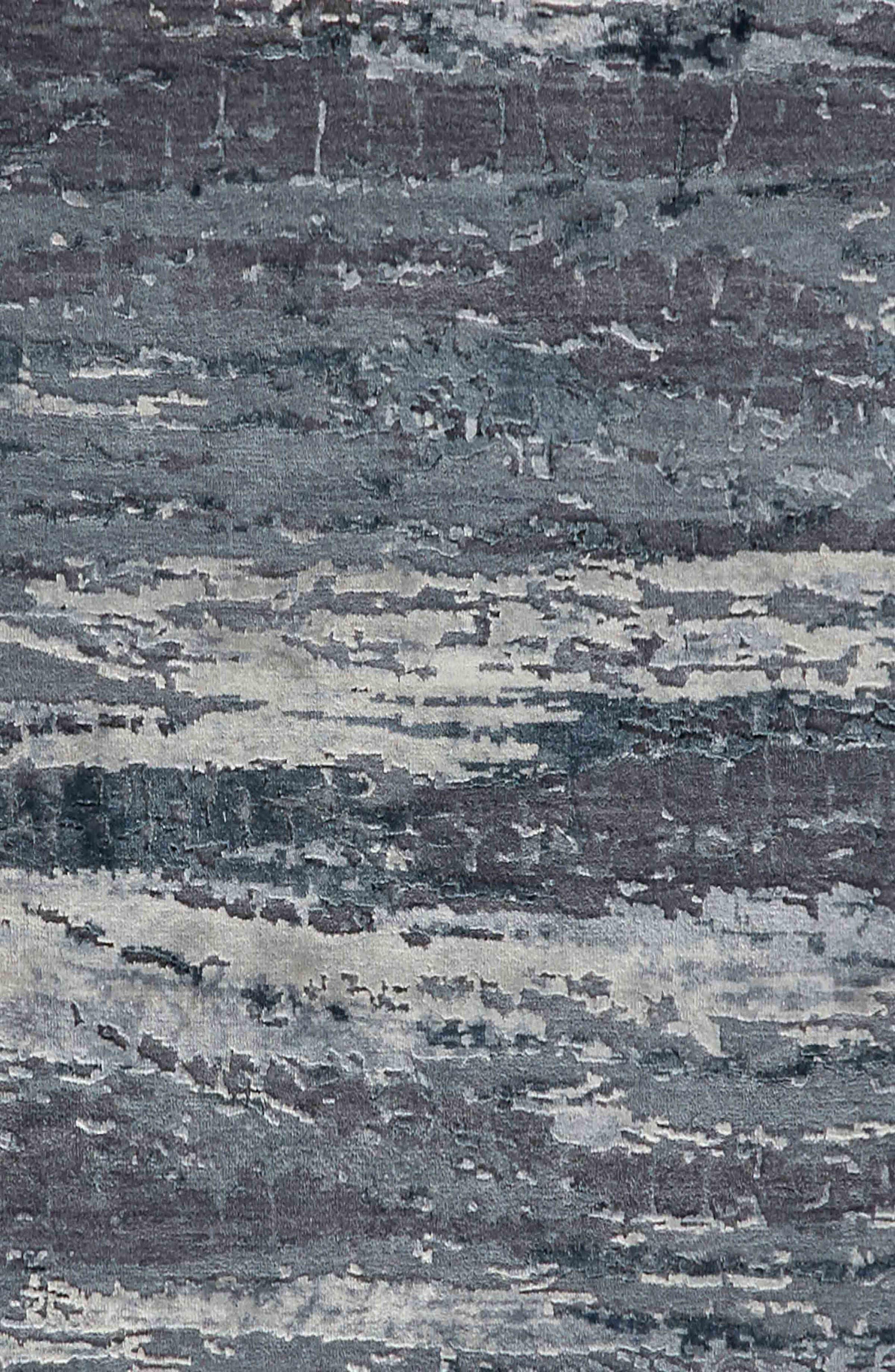 JAIPUR,                             'Chaos Theory' Stripe Rug,                             Alternate thumbnail 3, color,                             DARK GRAY