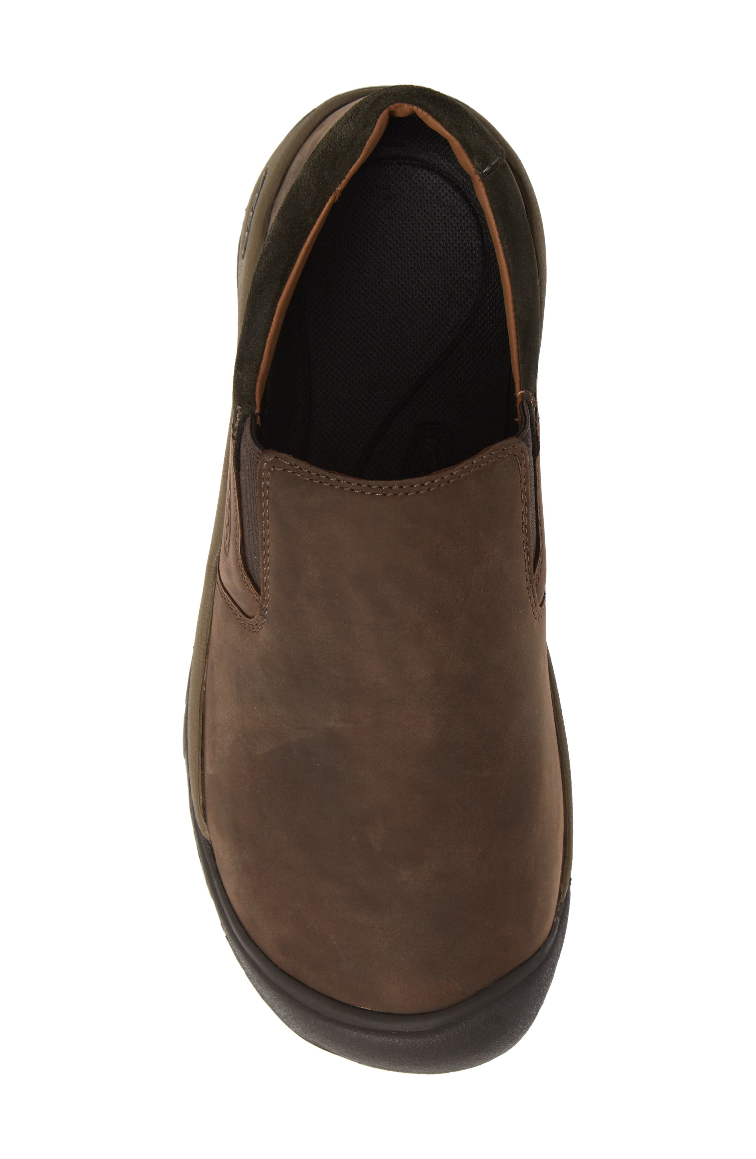 KEEN,                             Austin Water Resistant Slip-On Sneaker,                             Alternate thumbnail 5, color,                             CHOCOLATE BROWN/ BLACK OLIVE