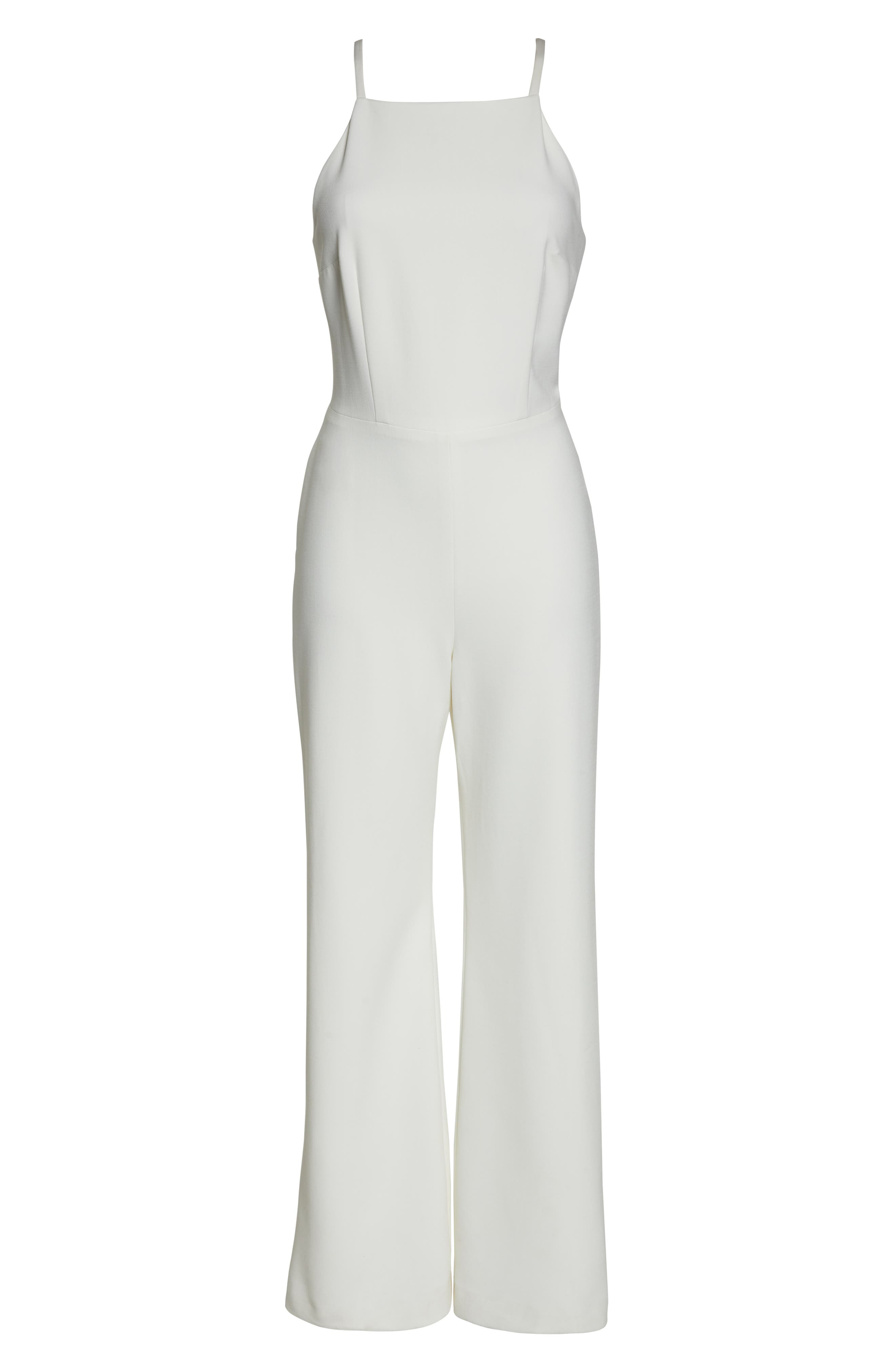 Whisper Halter Neck Jumpsuit,                             Alternate thumbnail 7, color,                             107
