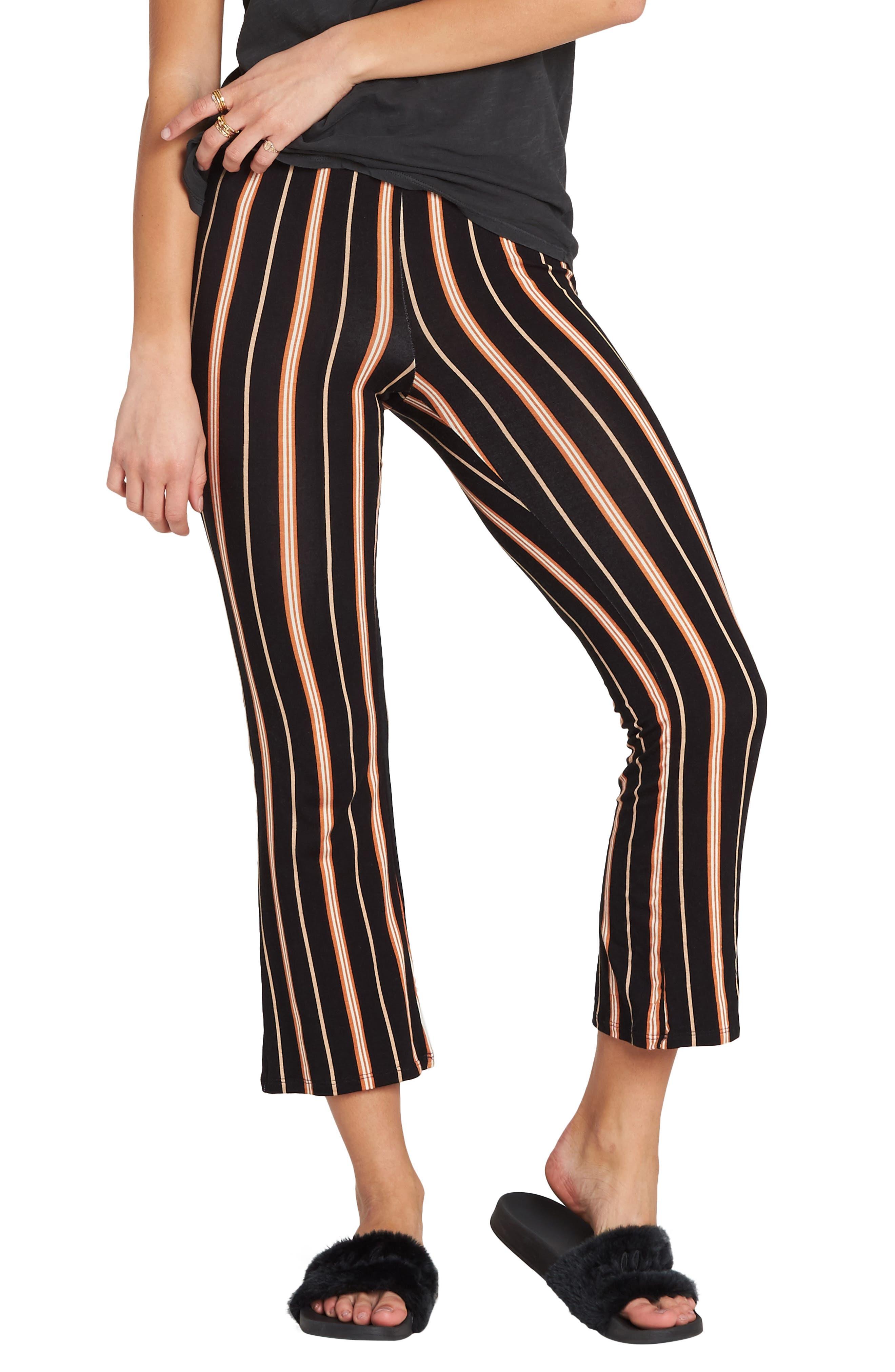 Sun Down Crop Pants,                         Main,                         color, TOFFEE