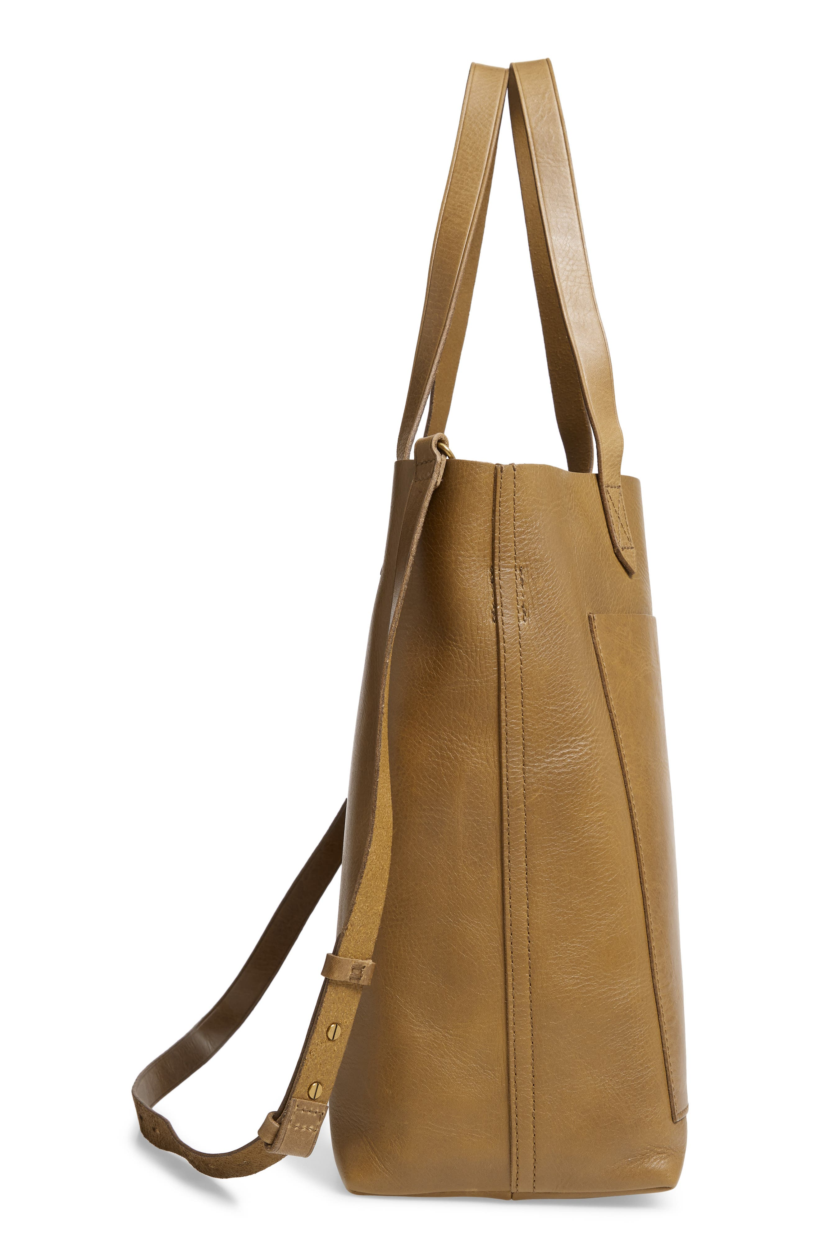 Medium Leather Transport Tote,                             Alternate thumbnail 64, color,