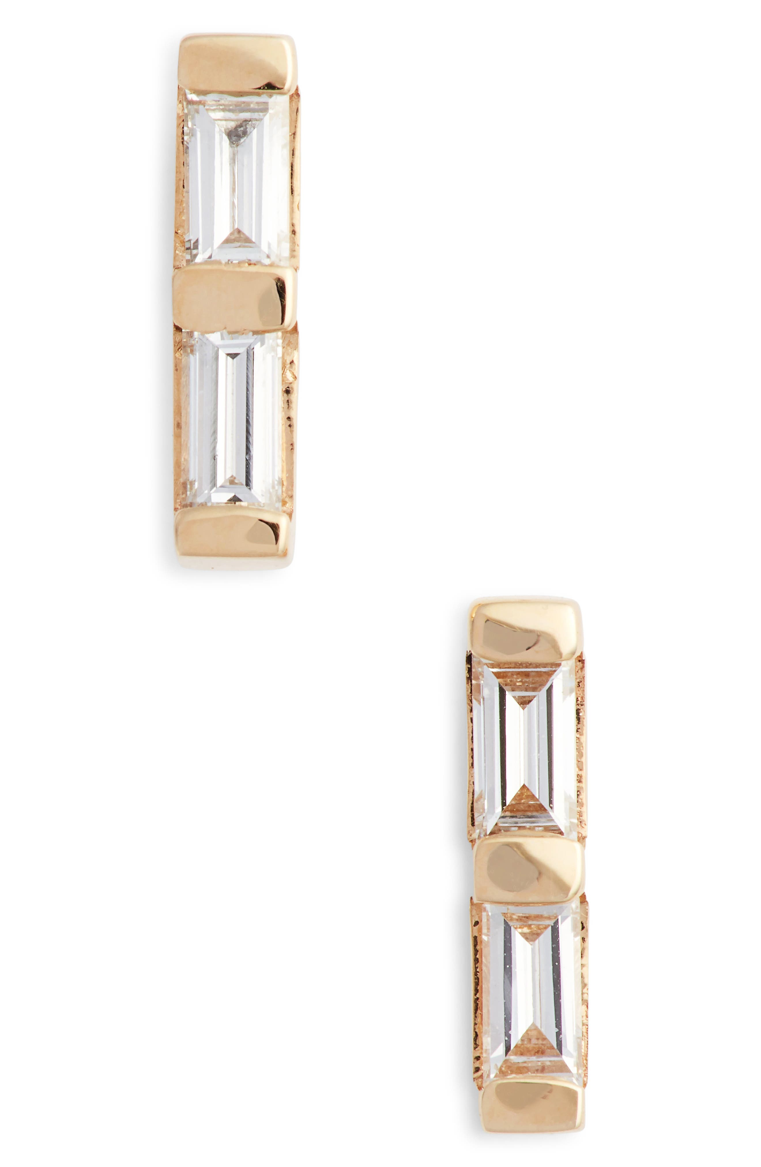 Dana Rebecca Sadie Diamond Stud Earrings,                         Main,                         color, YELLOW GOLD