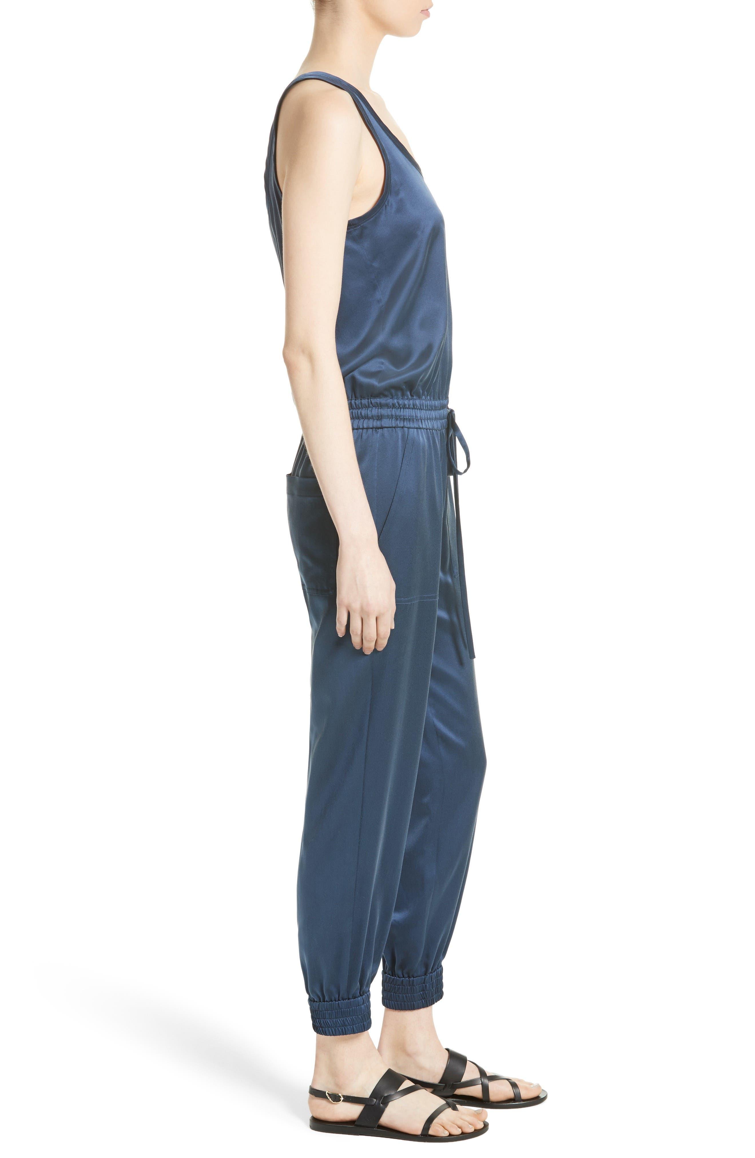 Hekuba Silk Jumpsuit,                             Alternate thumbnail 3, color,                             482