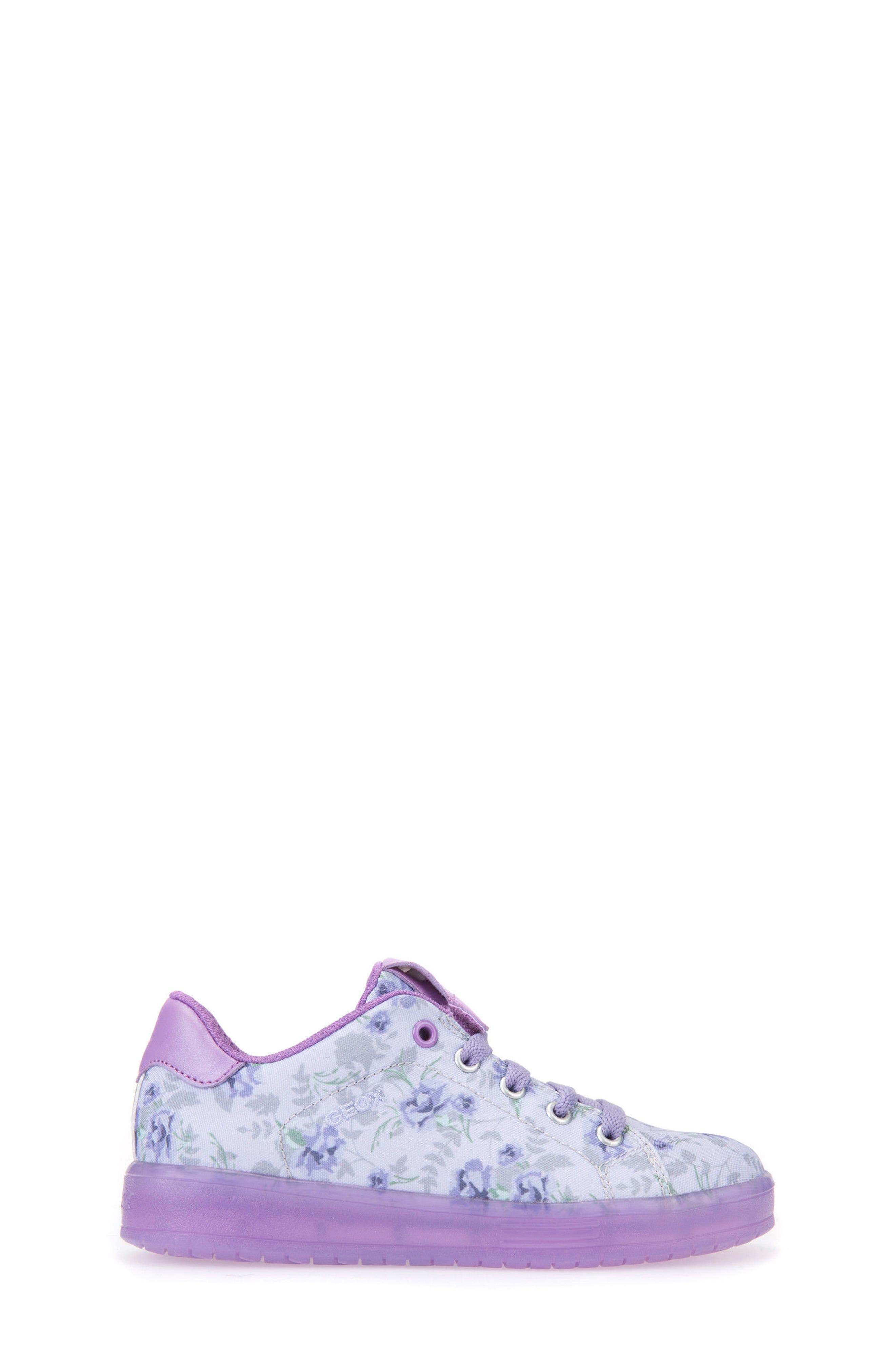 Kommodor Light-Up Sneaker,                             Alternate thumbnail 3, color,                             LIGHT LILAC/ LILAC