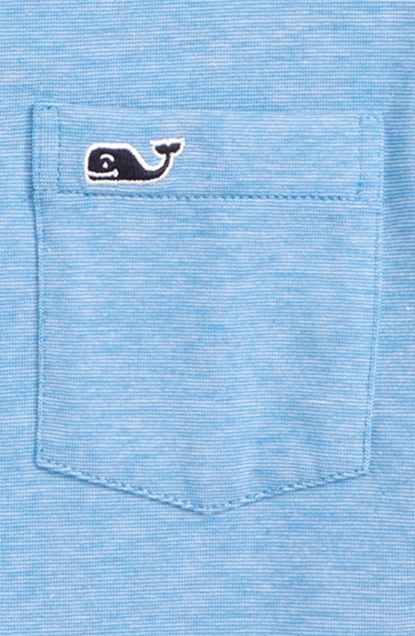 Edgartown Polo,                             Alternate thumbnail 2, color,                             HULL BLUE